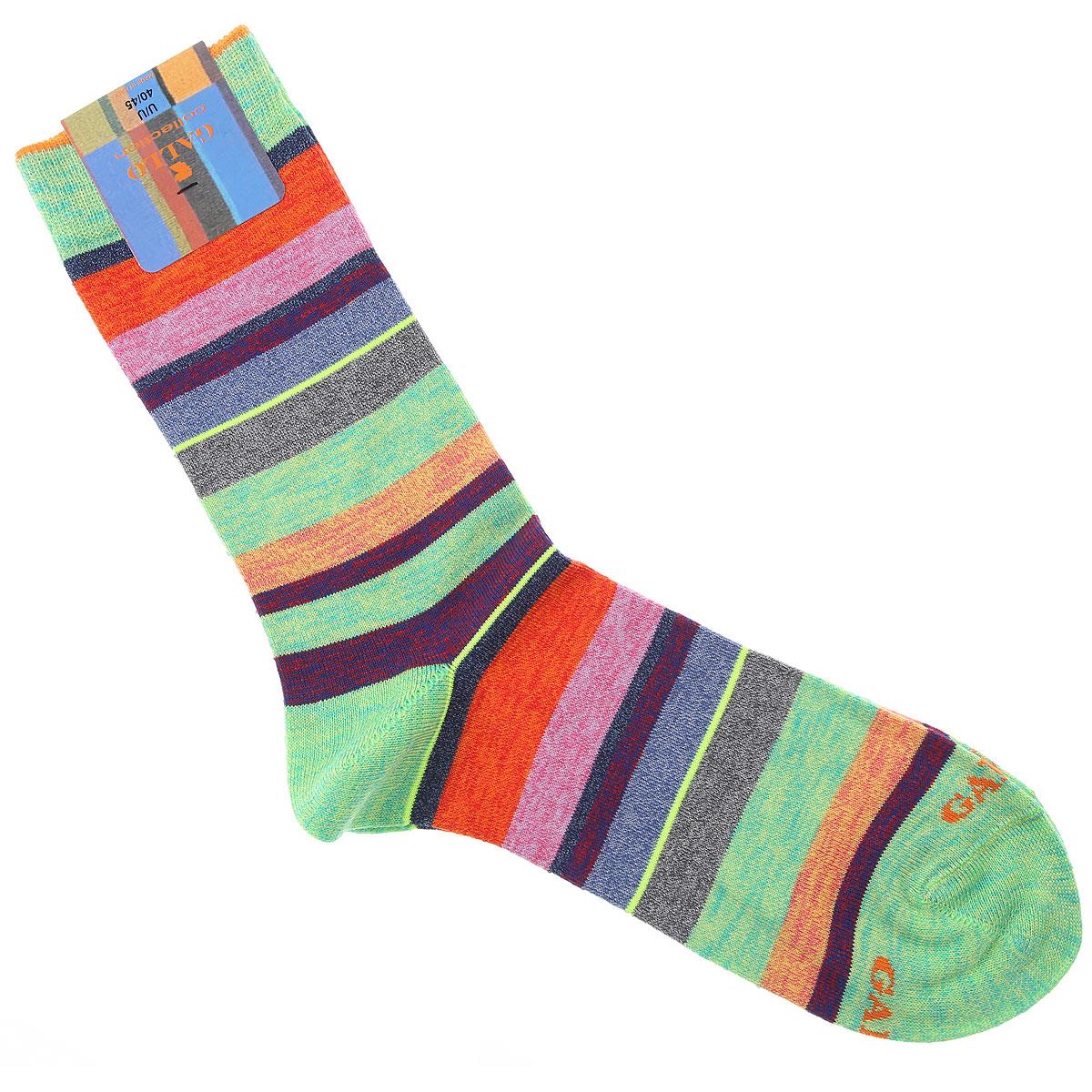 Gallo Socks Socks for Men On Sale, Acid Green, Cotton, 2019