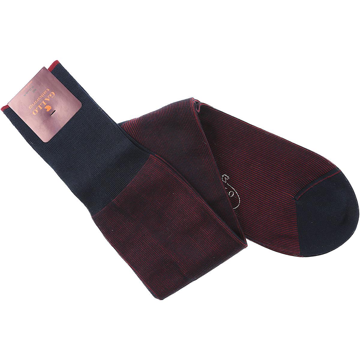 Gallo Socks Socks for Men, Sea Blue, Cotton, 2017, S M L USA-454693