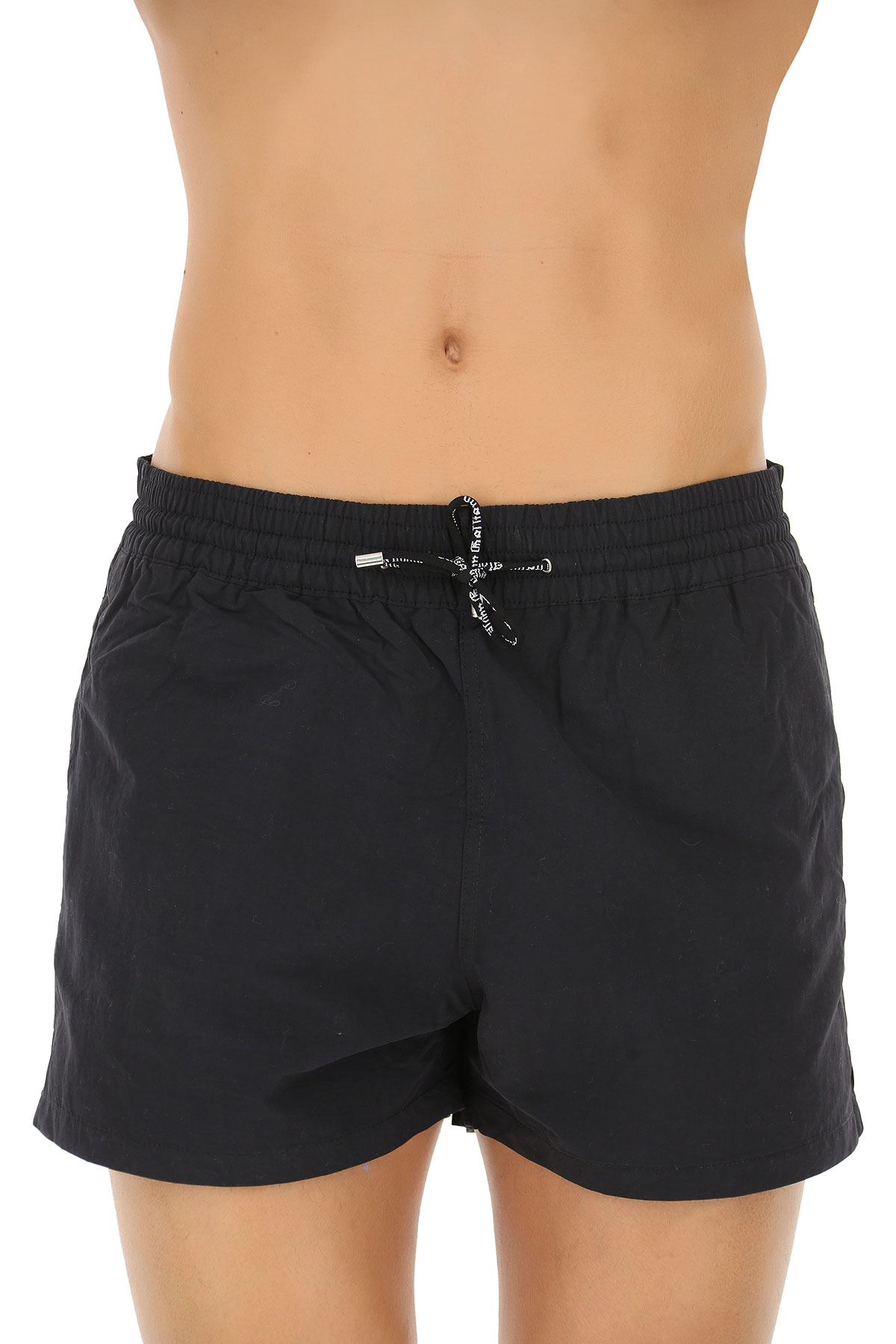 Image of Galliano Mens Swimwear On Sale in Outlet, Black, polyester, 2017, M (EU 48) L (EU 50)