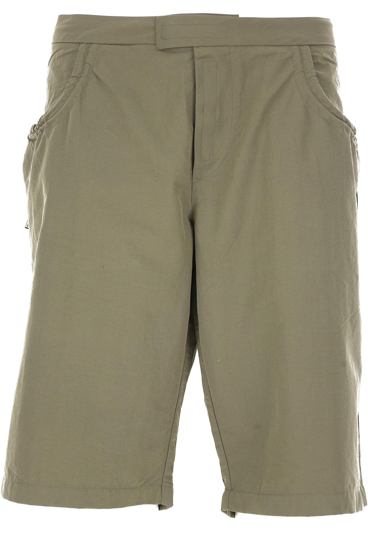 Image of Galliano Mens Swimwear On Sale in Outlet, Dark Military Green Melange, polyester, 2017, M (EU 48) L (EU 50) XL (EU 52)