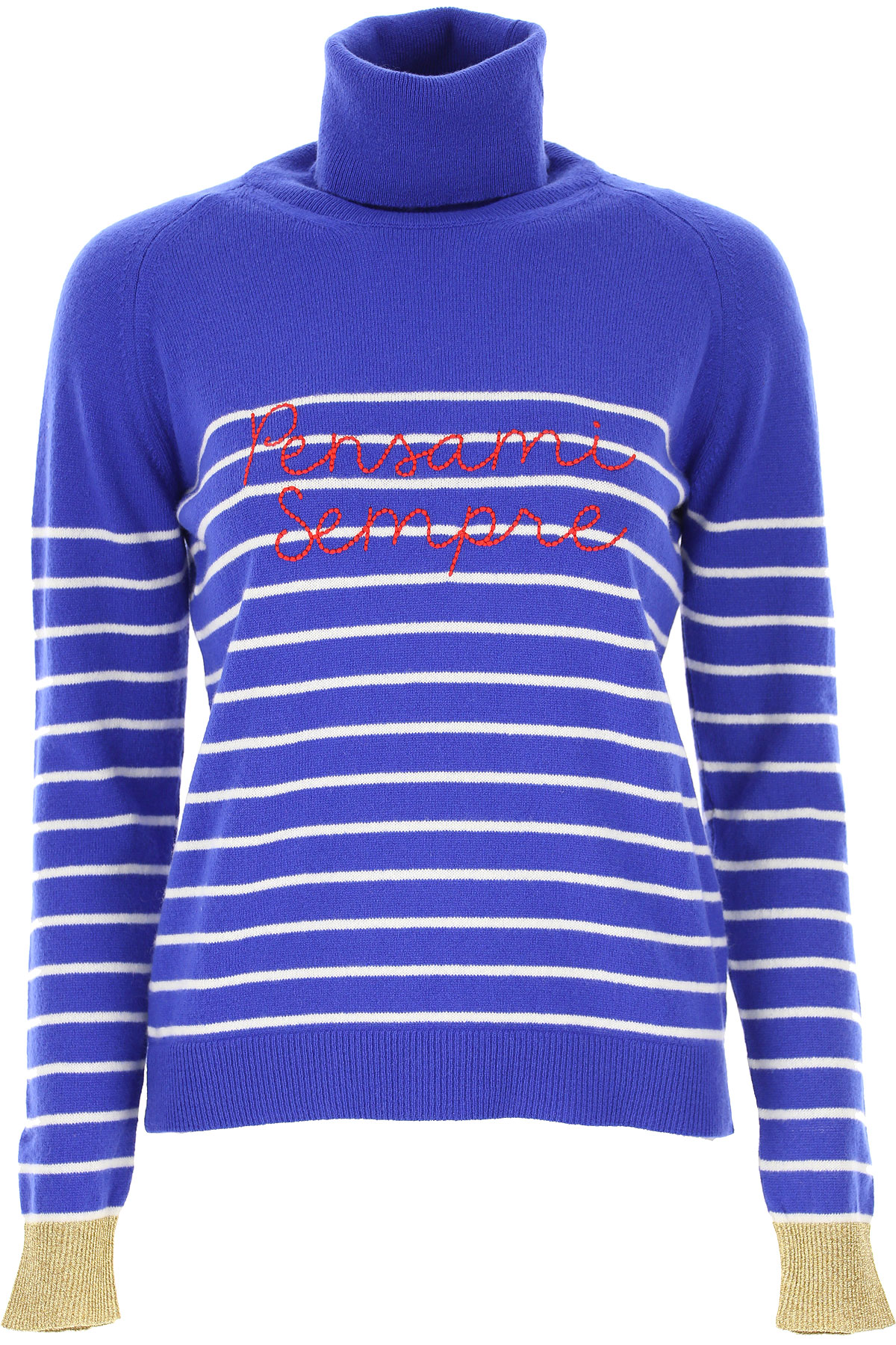 Giada Benincasa Sweater for Women Jumper On Sale, Electric Blue, Cashemere, 2019, 4 6 8