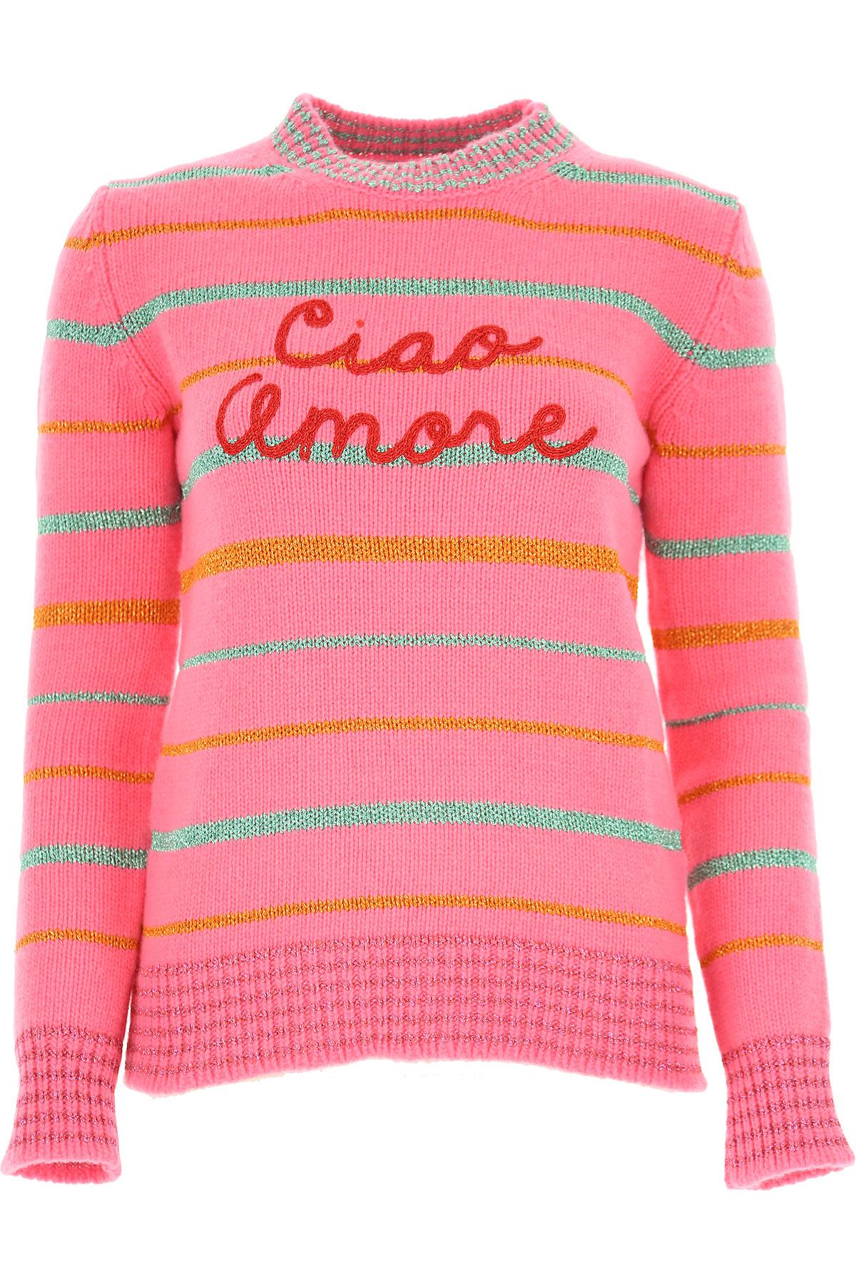 Image of Giada Benincasa Sweater for Women Jumper, Pink, Merinos Wool, 2017, 2 4
