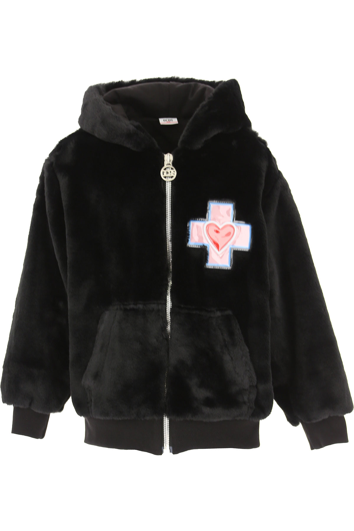 GCDS Girls Down Jacket for Kids, Puffer Ski Jacket On Sale, Black, polyester, 2019, 10Y 12Y 14Y 8Y