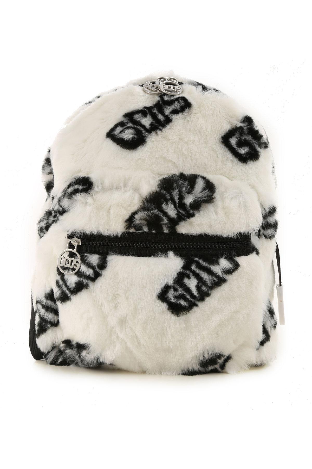 GCDS Girls Handbag On Sale, Off White, polyester, 2019