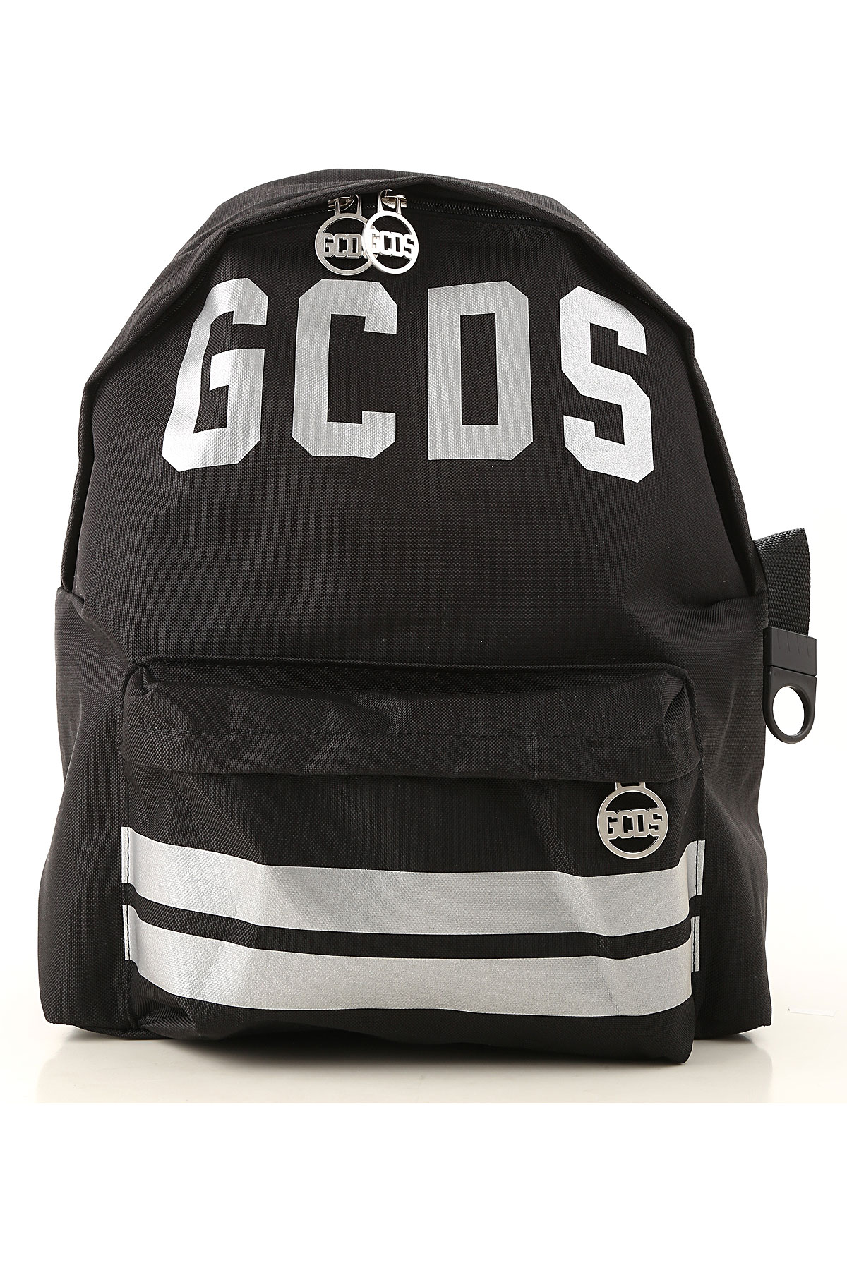 Image of GCDS Backpack for Women, Black, polyester, 2017
