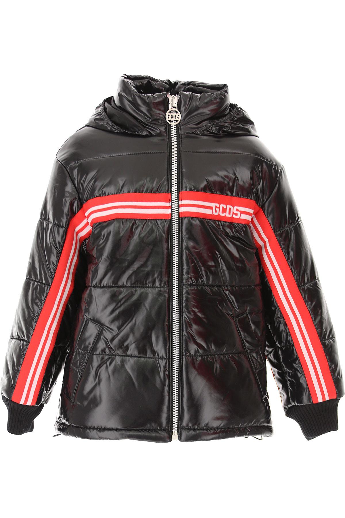 GCDS Boys Down Jacket for Kids, Puffer Ski Jacket On Sale, polyurethane, 2019, 10Y 12Y 14Y 8Y