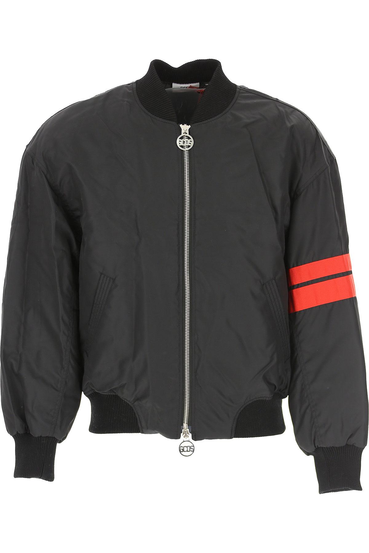 GCDS Jacket for Men On Sale, Black, polyamide, 2019, L M S