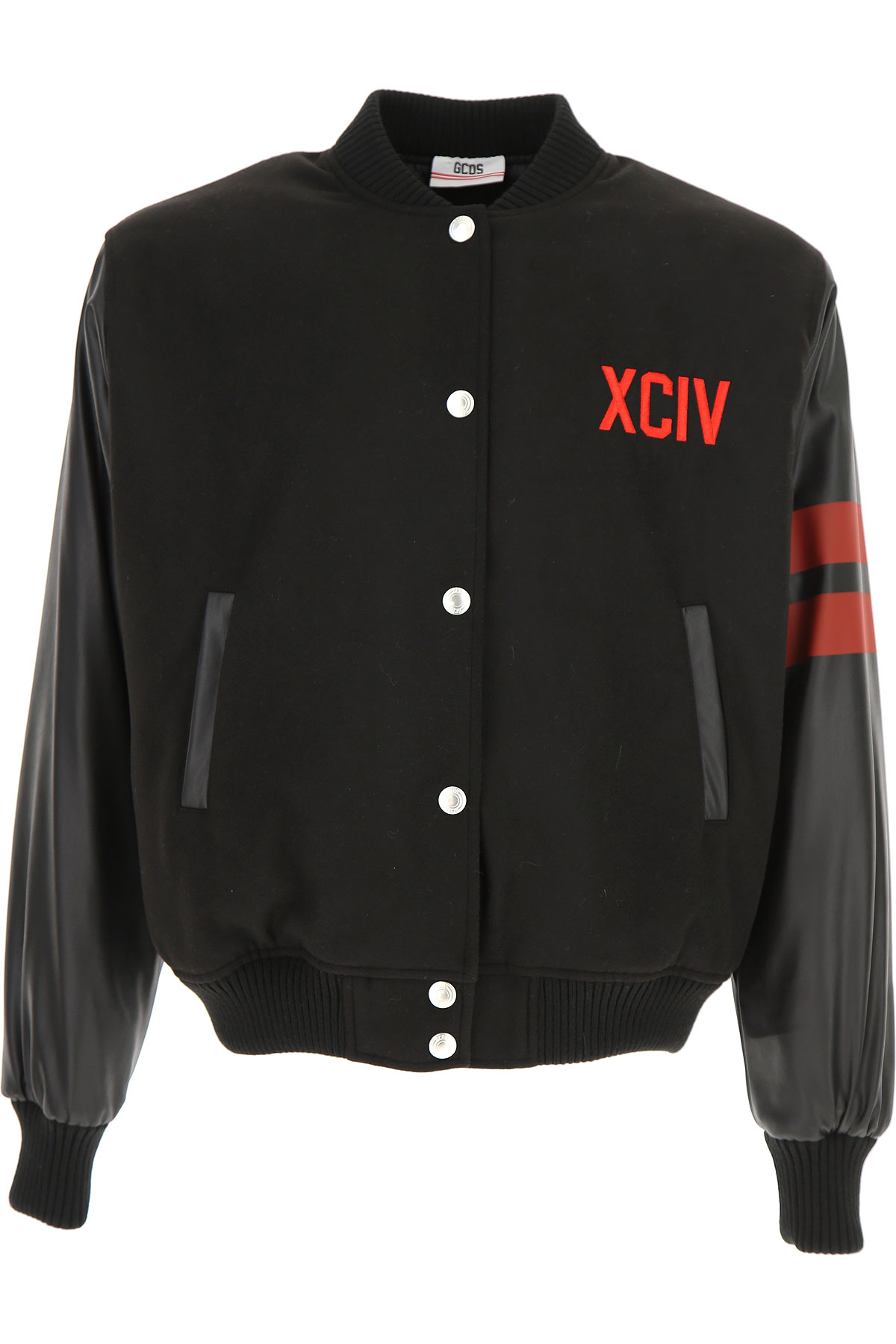 Image of GCDS Jacket for Men, Black, polyestere, 2017, L M S XL