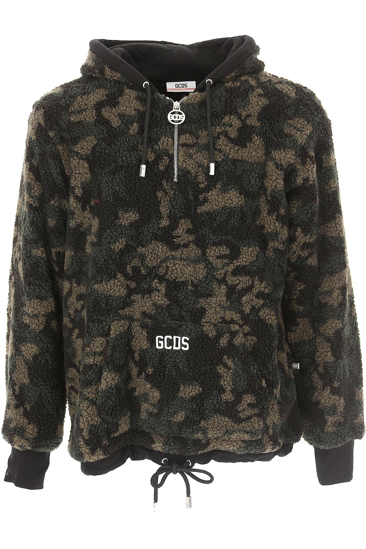 Image of GCDS Jacket for Men, Black, polyester, 2017, L M S XL