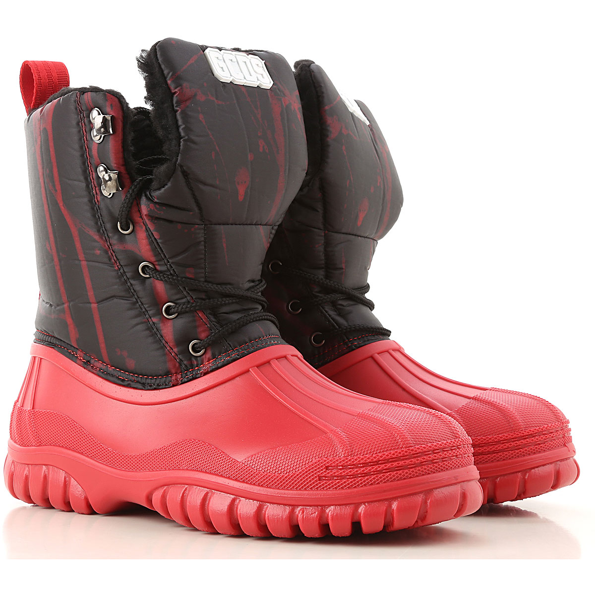 GCDS Boots for Men, Booties On Sale, Red, Rubber, 2019, 10 10.5 7.5 8