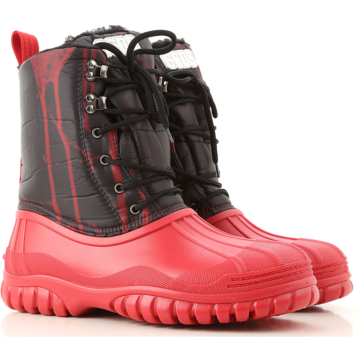GCDS Boots for Men, Booties On Sale, Red, Nylon, 2019, 10 10.5 11.5 7.5 8 9