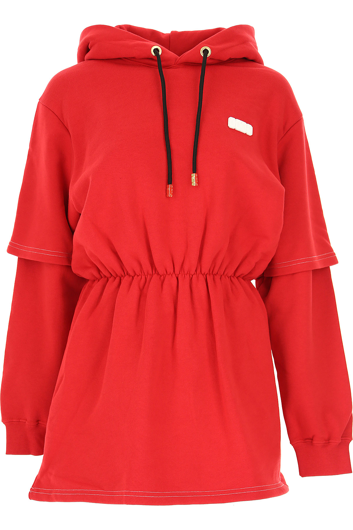 GCDS Dress for Women, Evening Cocktail Party On Sale, Red, Cotton, 2019, 4 6