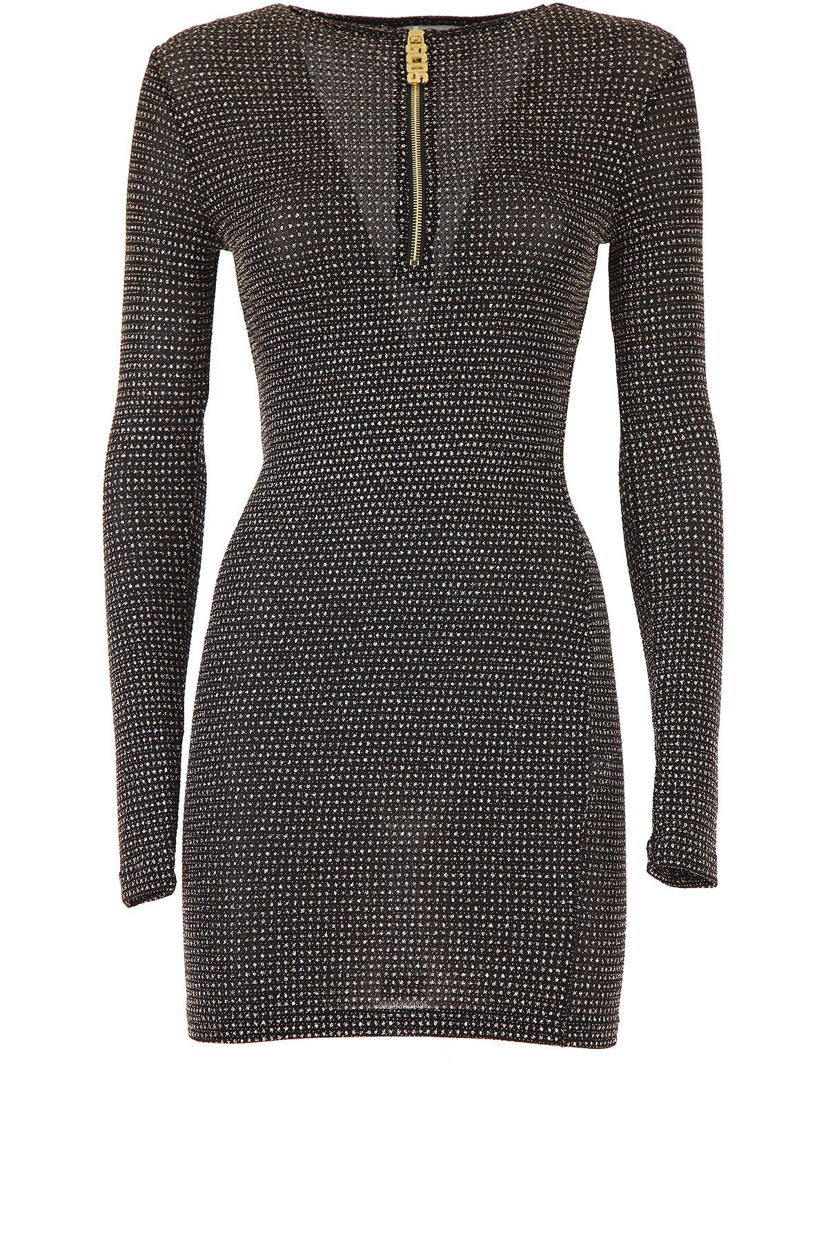 GCDS Dress for Women, Evening Cocktail Party On Sale, Black, polyamide, 2019, 4 6