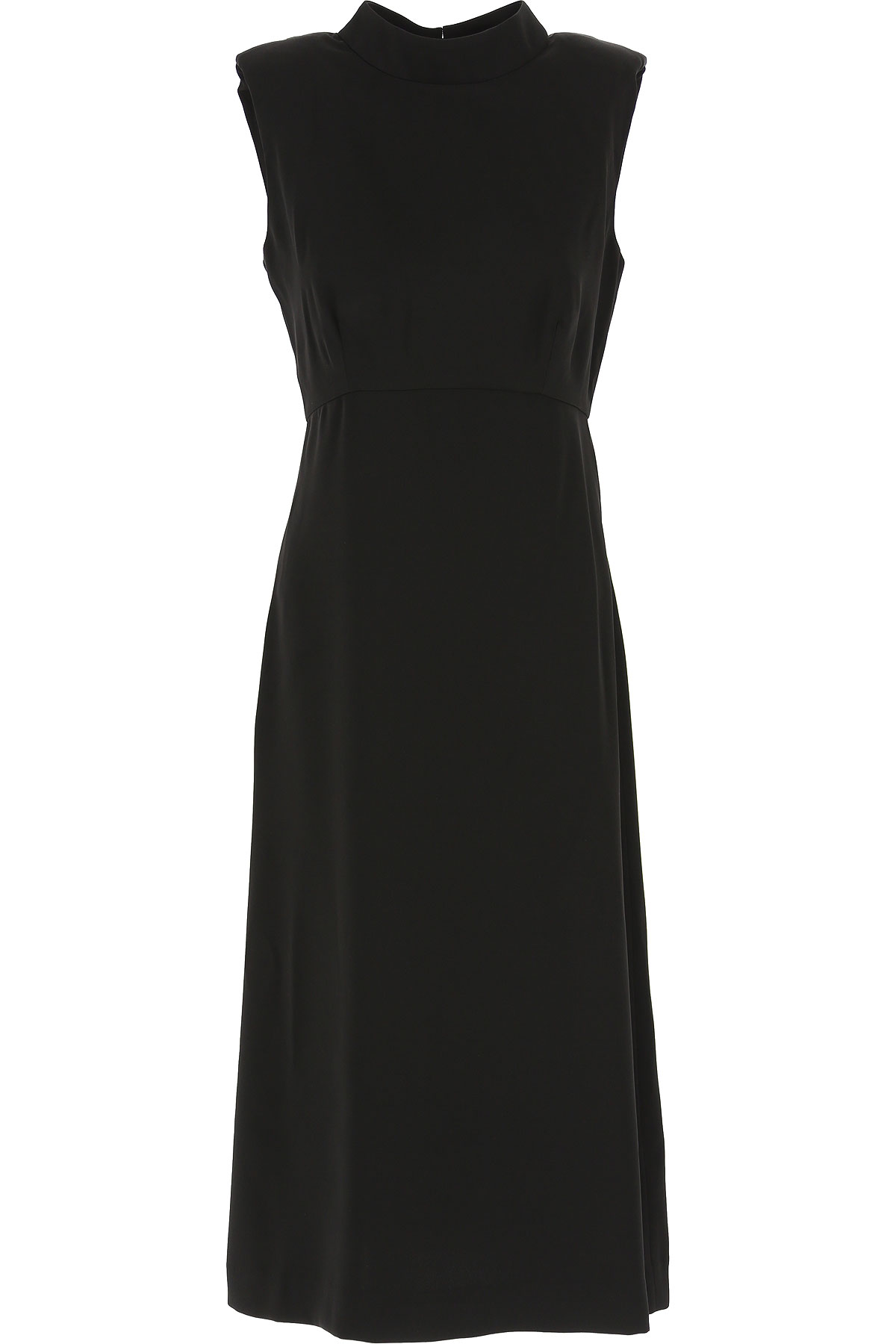 Guess Dress for Women, Evening Cocktail Party On Sale, Black, polyester, 2019, 2 4 6 8