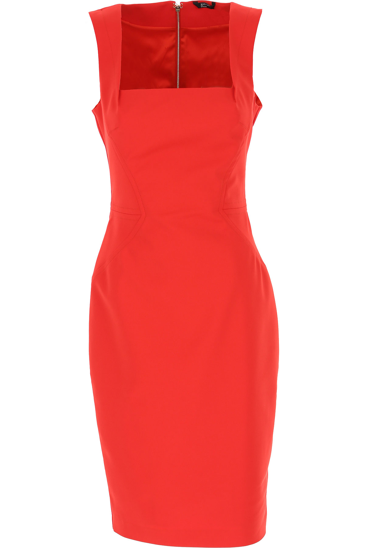 Guess Dress for Women, Evening Cocktail Party On Sale, Red, Cotton, 2019, 4 8