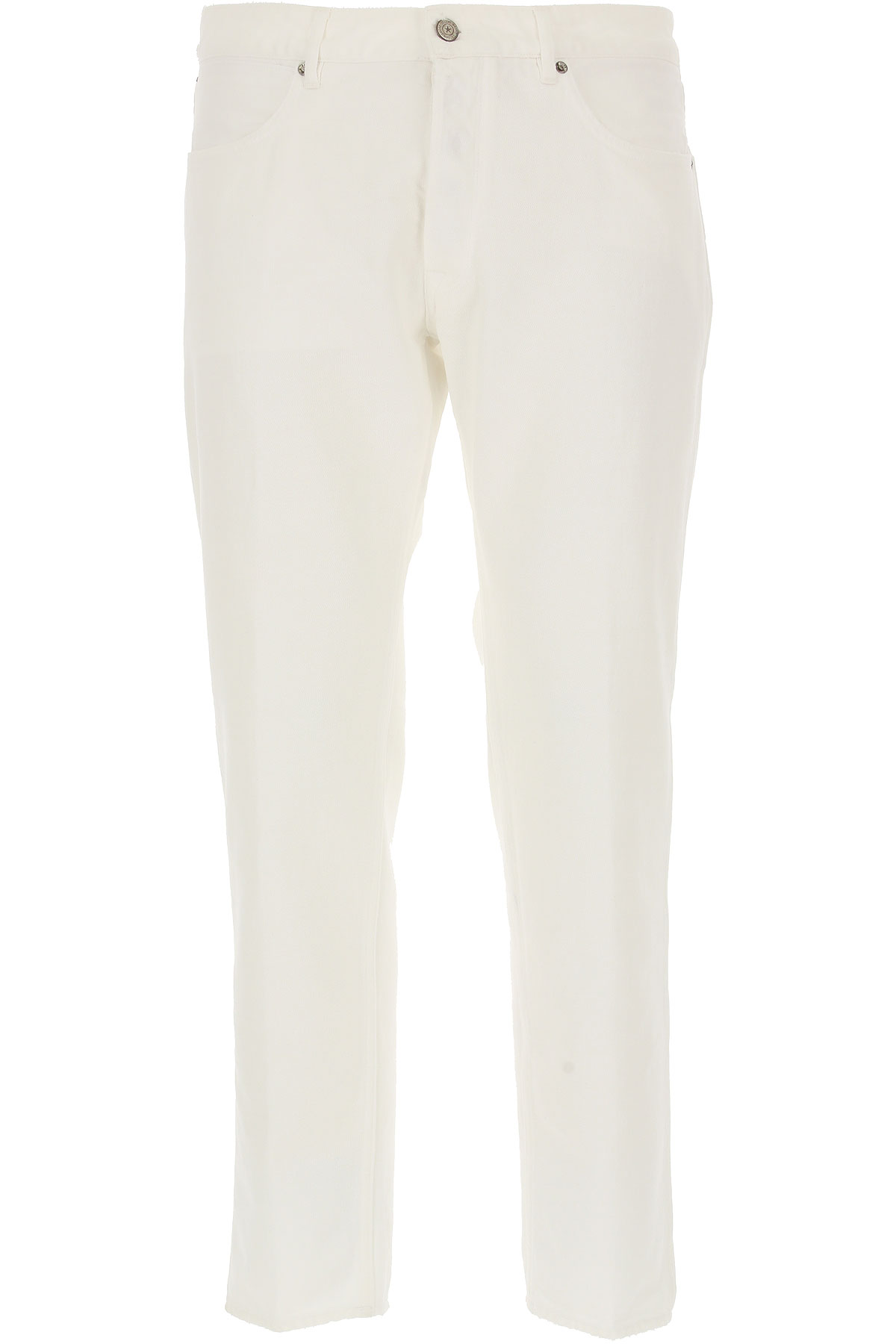 Golden Goose Jeans, White, Cotton, 2017, 30 31 32 33 34 36