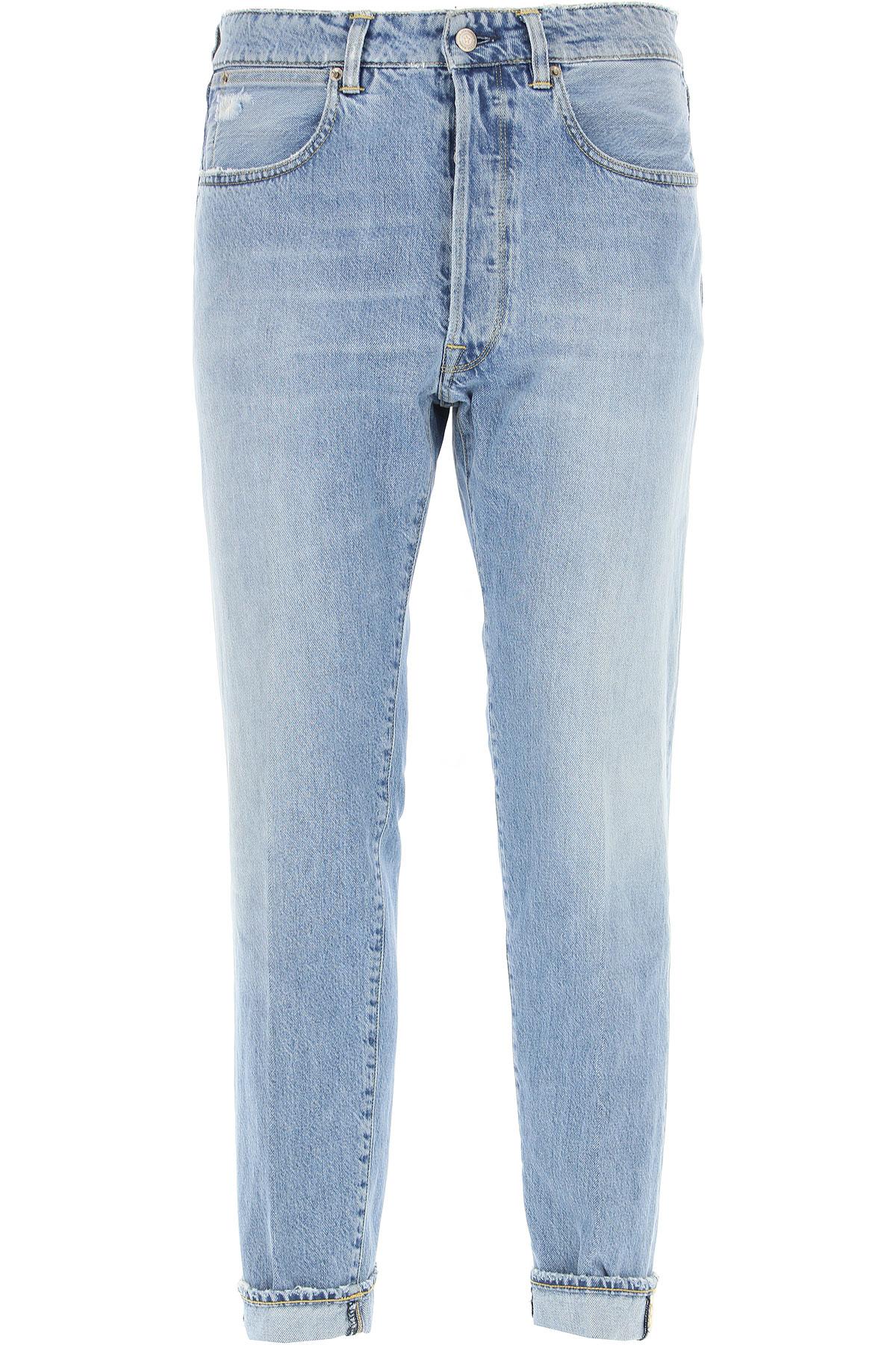 Golden Goose Jeans On Sale, Light Blue Denim, Cotton, 2019, 30 31 32 33