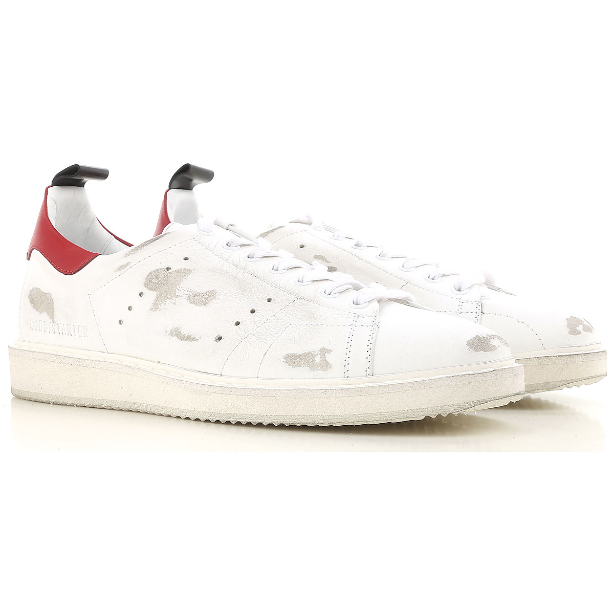 Golden Goose Sneakers for Men On Sale, White, Leather, 2019, 10.5 11.5