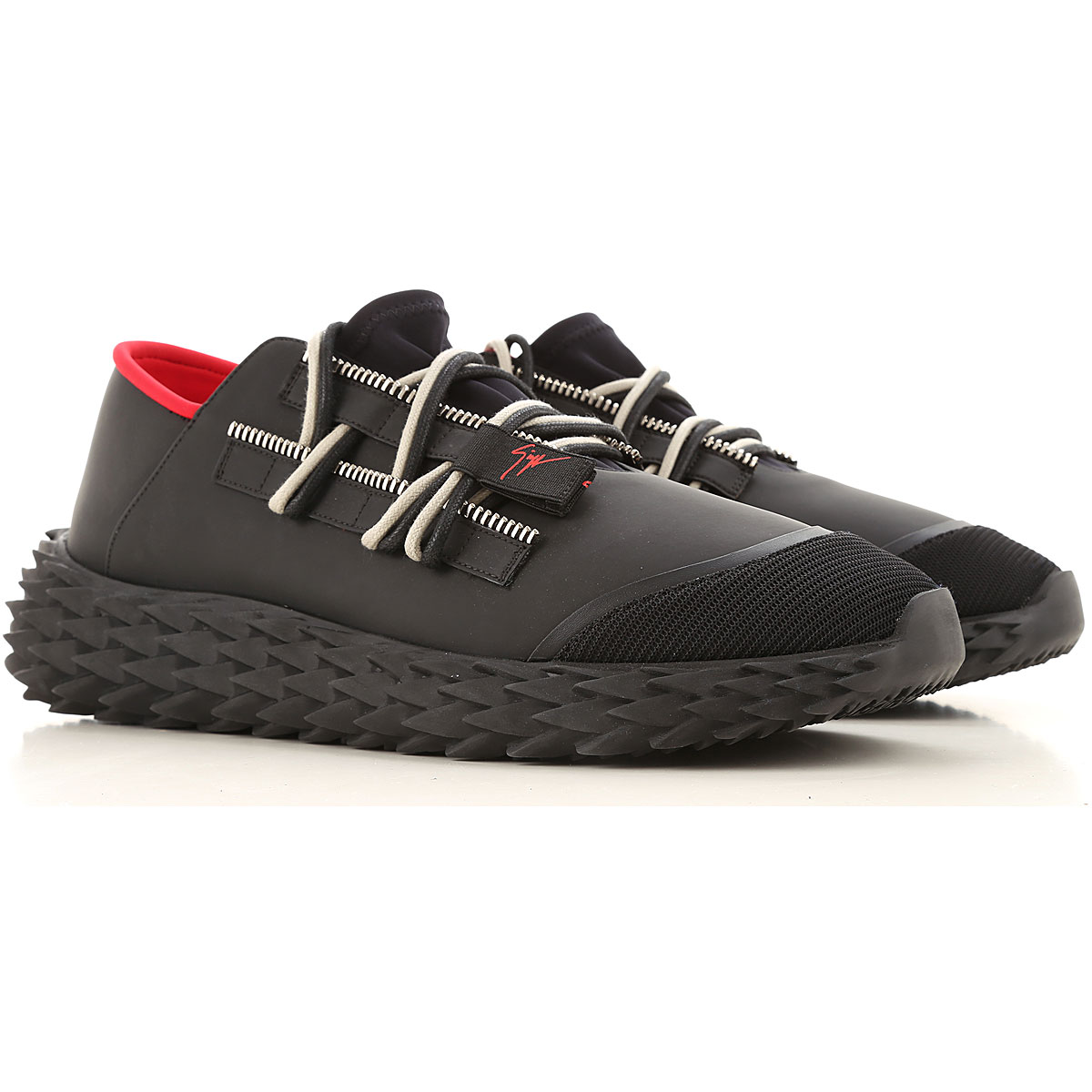 Giuseppe Zanotti Design Sneakers for Men On Sale, Black, Leather, 2019, 10 7 7.5 7.75 8 9 9.5