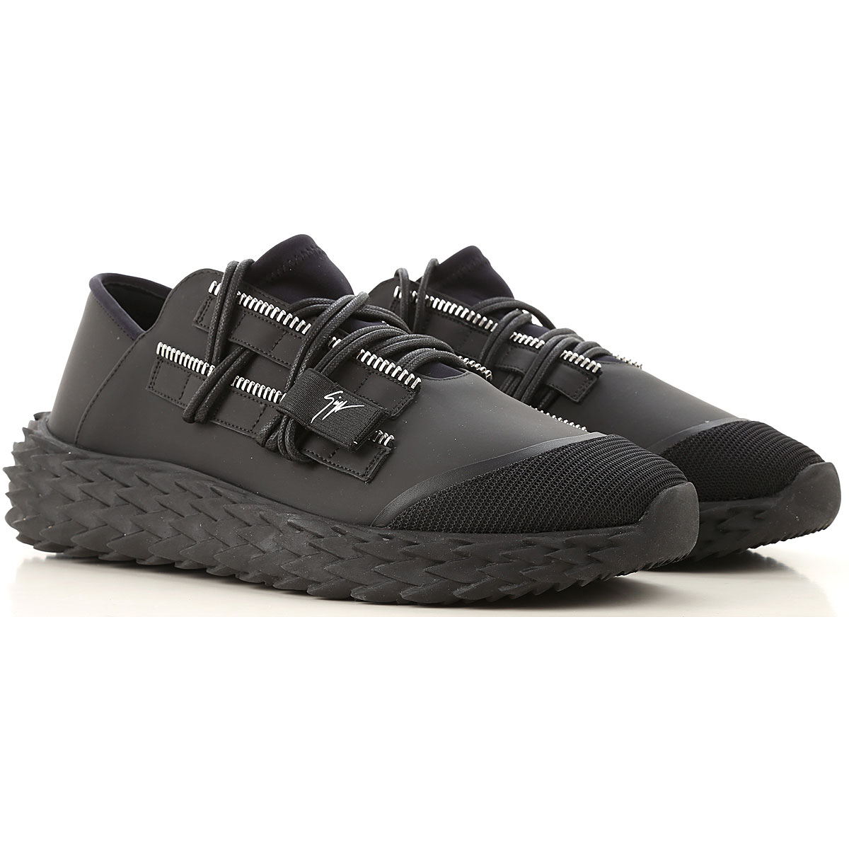 Giuseppe Zanotti Design Sneakers for Men On Sale, Black, Leather, 2019, 10 10.5 8 8.5 9 9.5