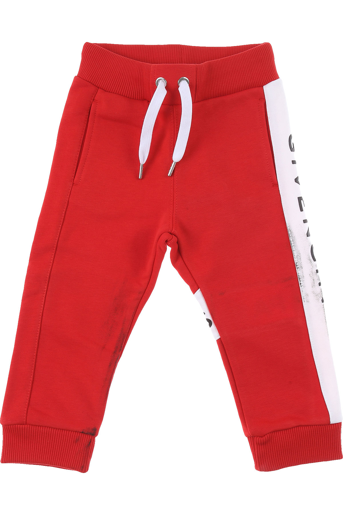 Givenchy Baby Sweatpants for Boys On Sale, Red, Cotton, 2019, 12 M 18 M 2Y 3Y 9 M