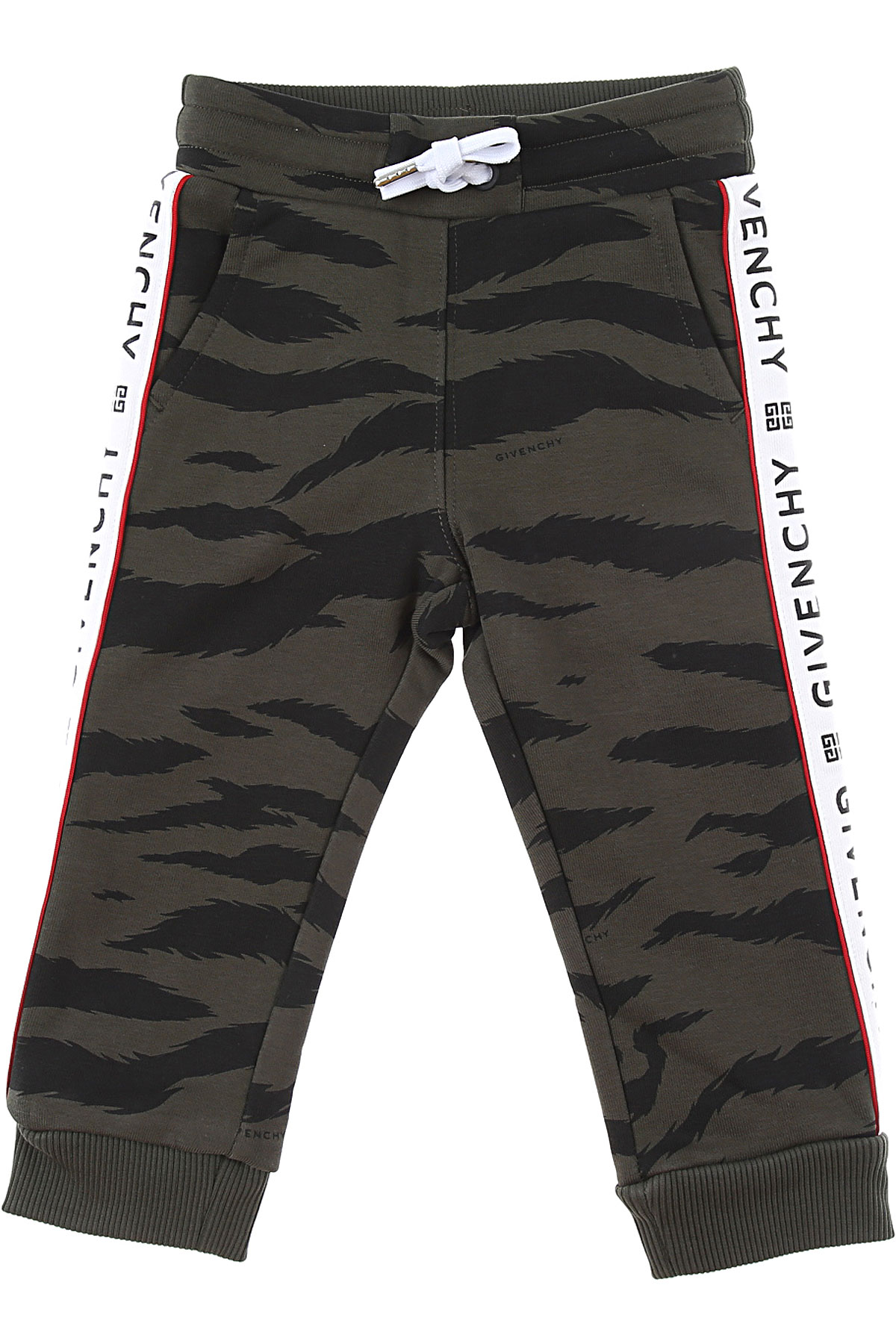 Givenchy Baby Sweatpants for Boys On Sale, Dark Green, Cotton, 2019, 12 M 18 M 2Y 3Y 9 M