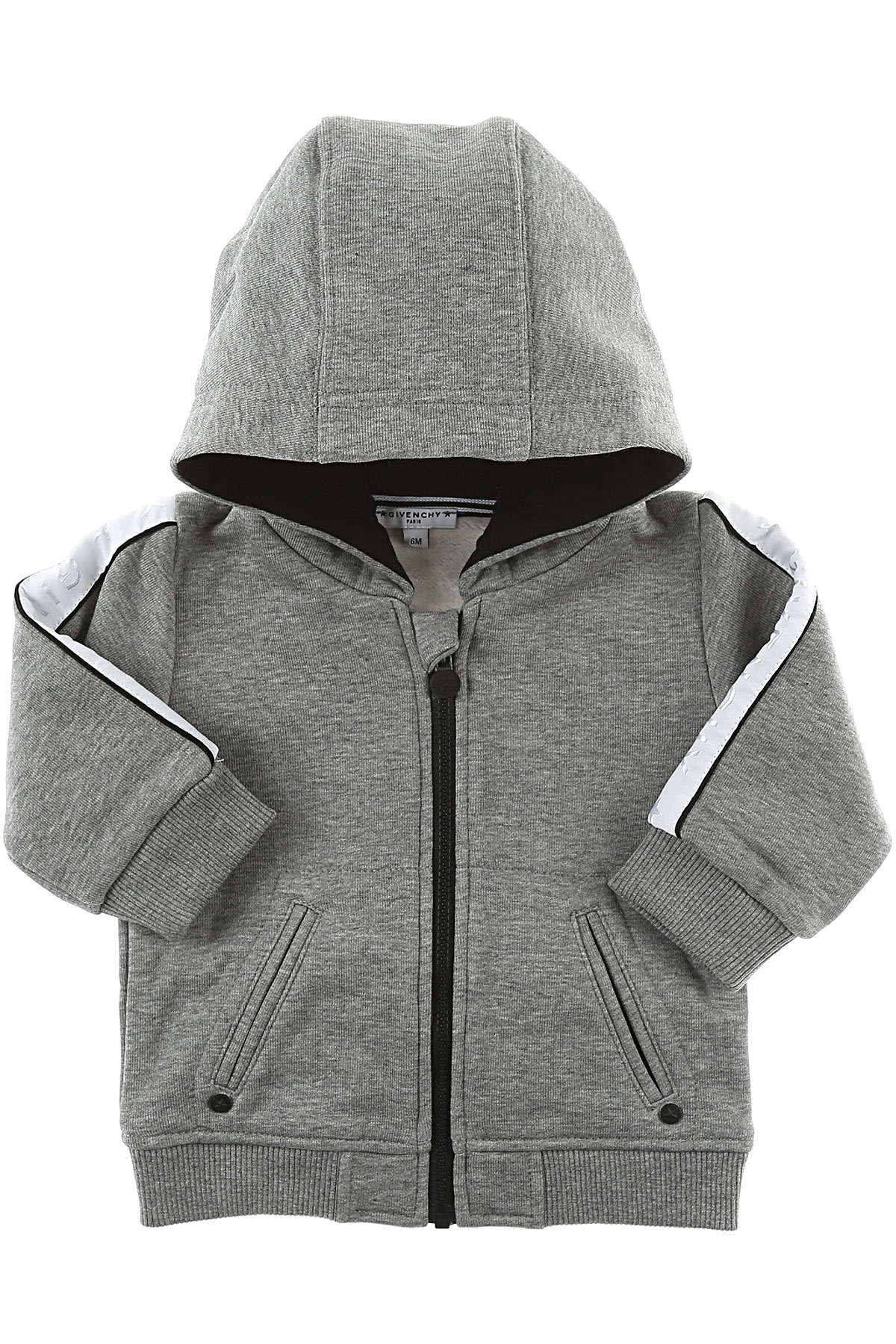 Image of Givenchy Baby Sweatshirts & Hoodies for Boys, Grey, Cotton, 2017, 12M 18M 3Y 6M 9M