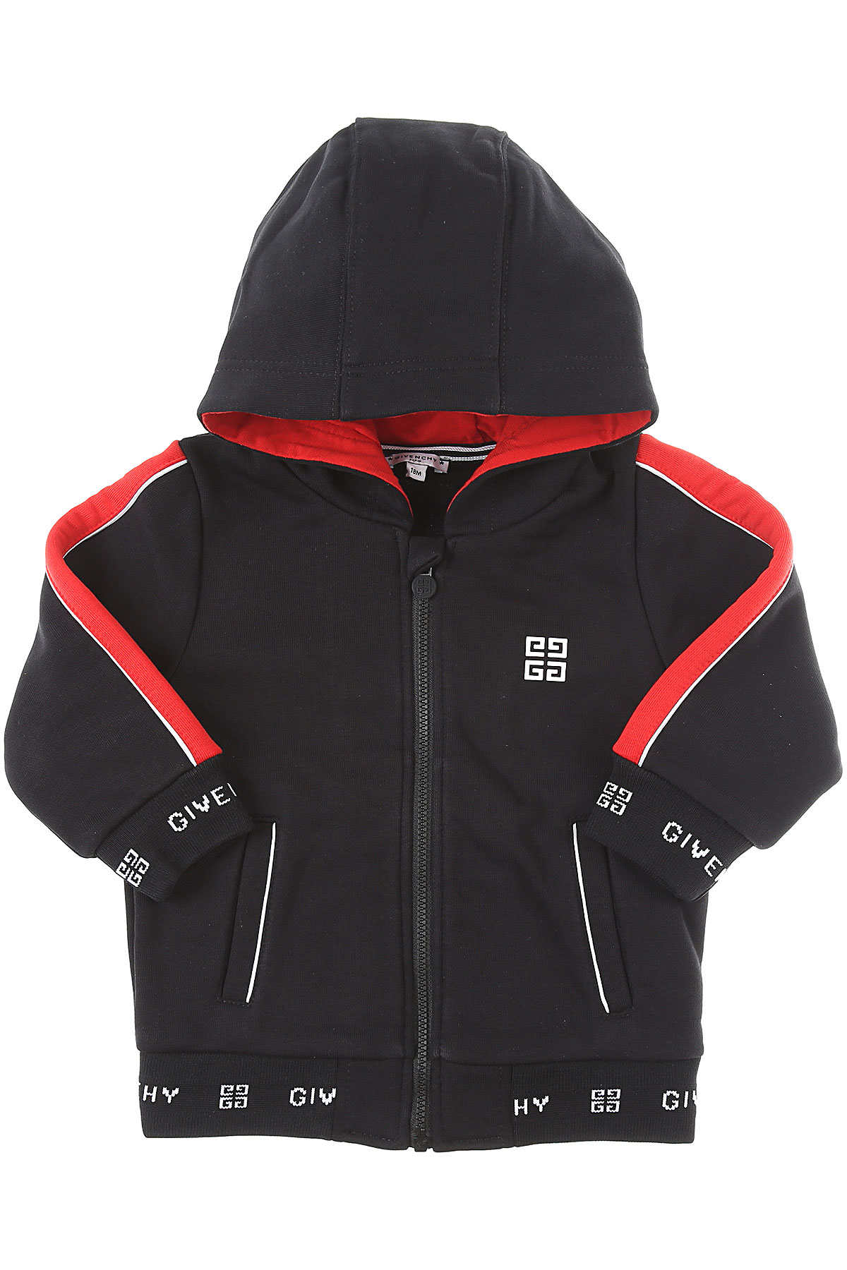 Givenchy Baby Sweatshirts & Hoodies for Boys On Sale, Black, Cotton, 2019, 12 M 18M 2Y 3Y 9M