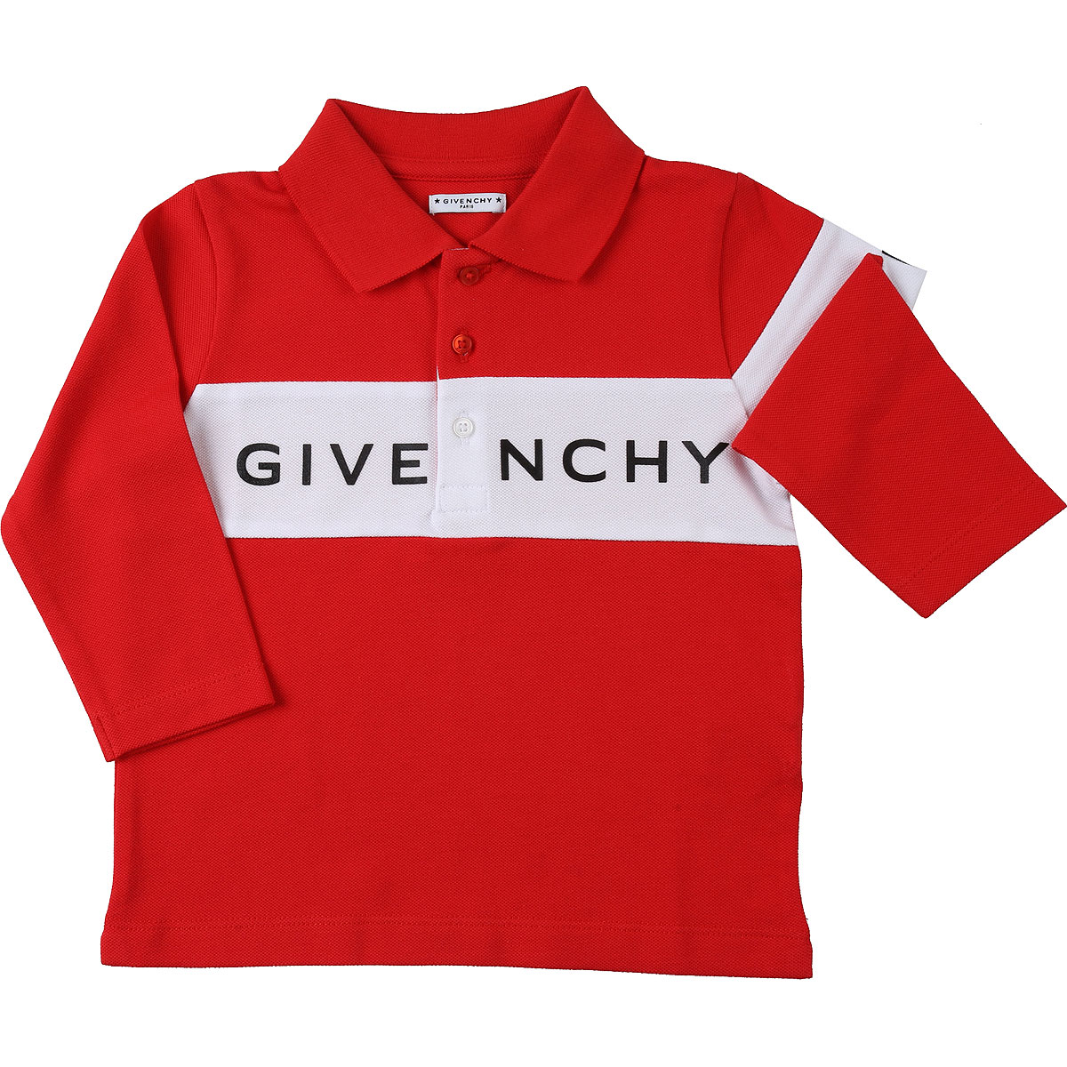 Givenchy Baby Polo Shirt for Boys On Sale, Red, Cotton, 2019, 12 M 18M 2Y 3Y 9 M