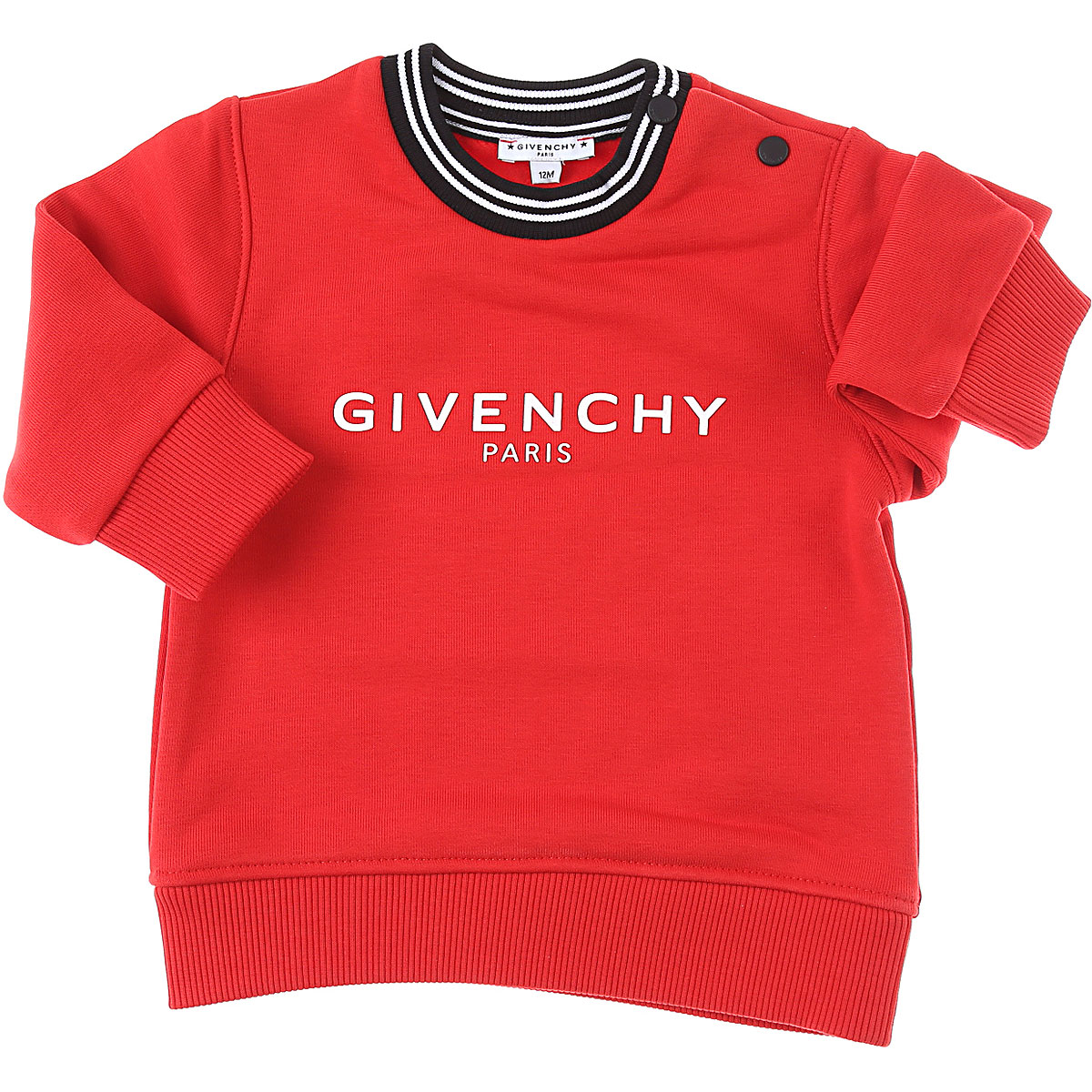 Givenchy Baby Sweatshirts & Hoodies for Boys On Sale, Red, Cotton, 2019, 18M 9M