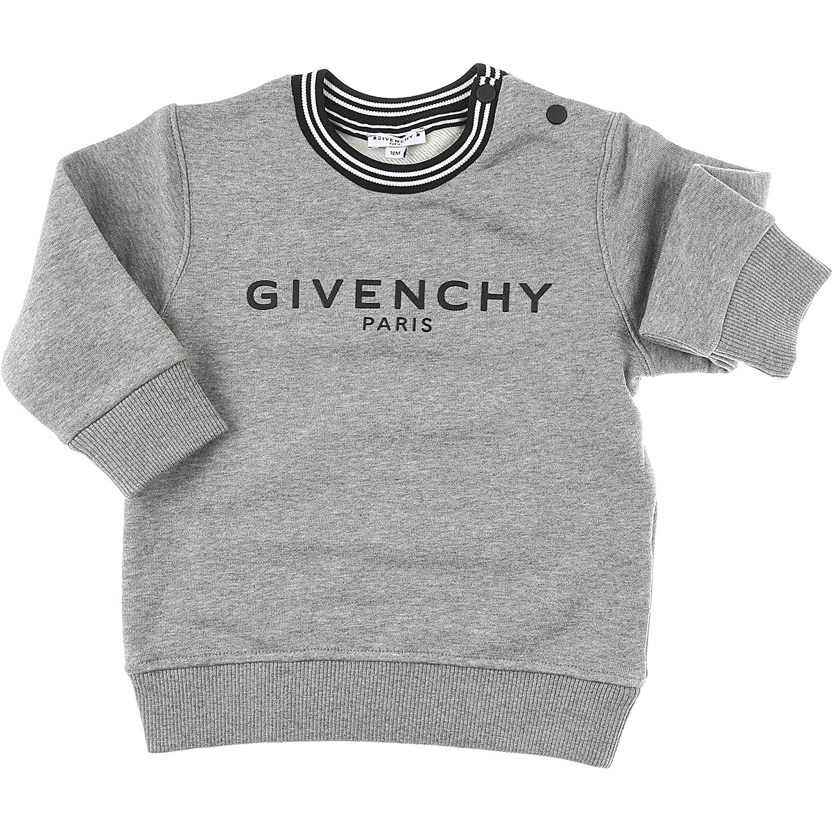 Givenchy Baby Sweatshirts & Hoodies for Boys On Sale, Grey, Cotton, 2019, 12 M 18M 3Y