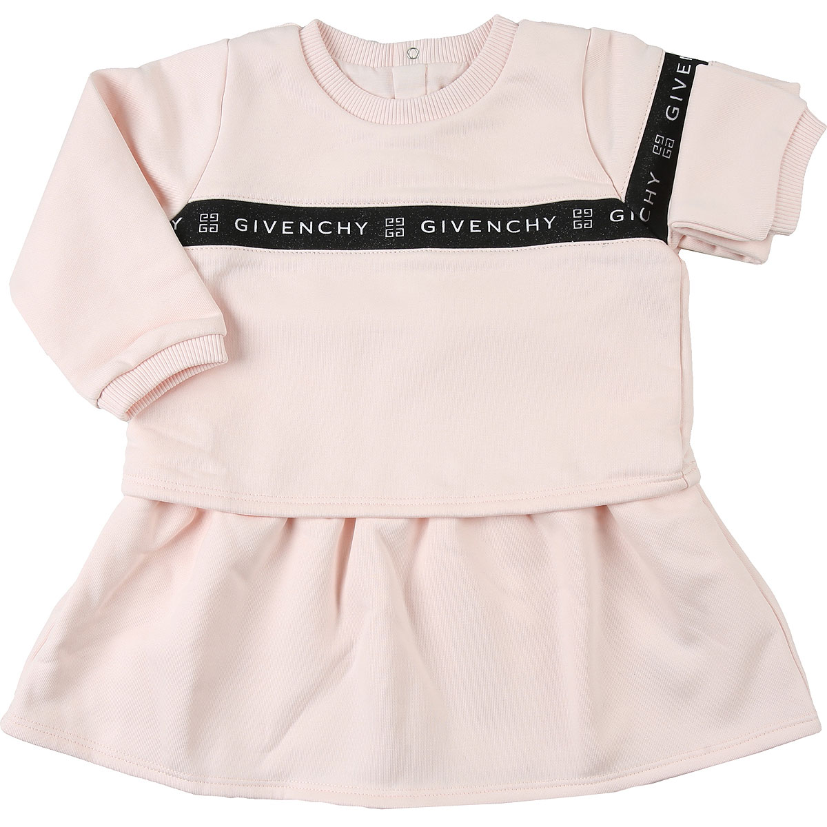 Givenchy Baby Dress for Girls On Sale, Pale Pink, Cotton, 2019, 12M 18M 2Y 3Y 9M