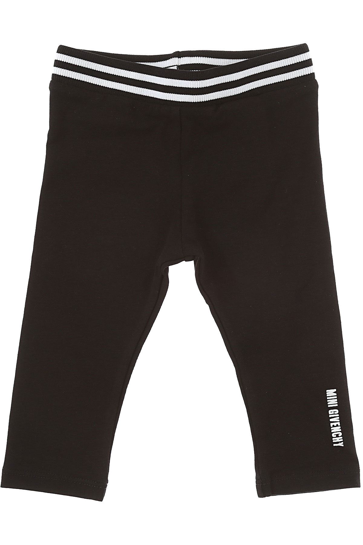 Image of Givenchy Baby Pants for Girls, Black, Cotton, 2017, 12M 18M 2Y 3Y 6M 9M