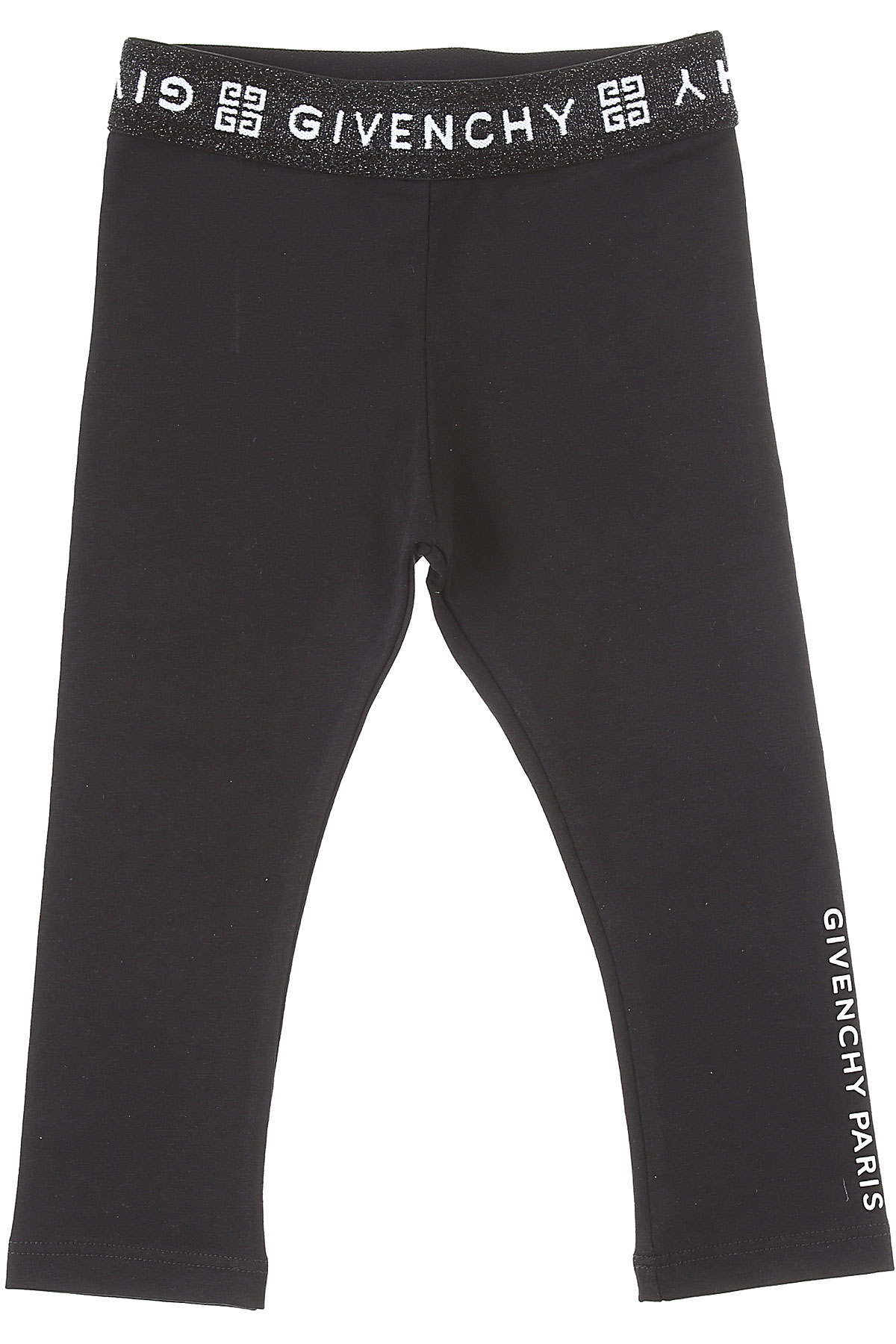 Givenchy Baby Pants for Girls On Sale, Black, Cotton, 2019, 12M 18M 2Y 3Y 9M