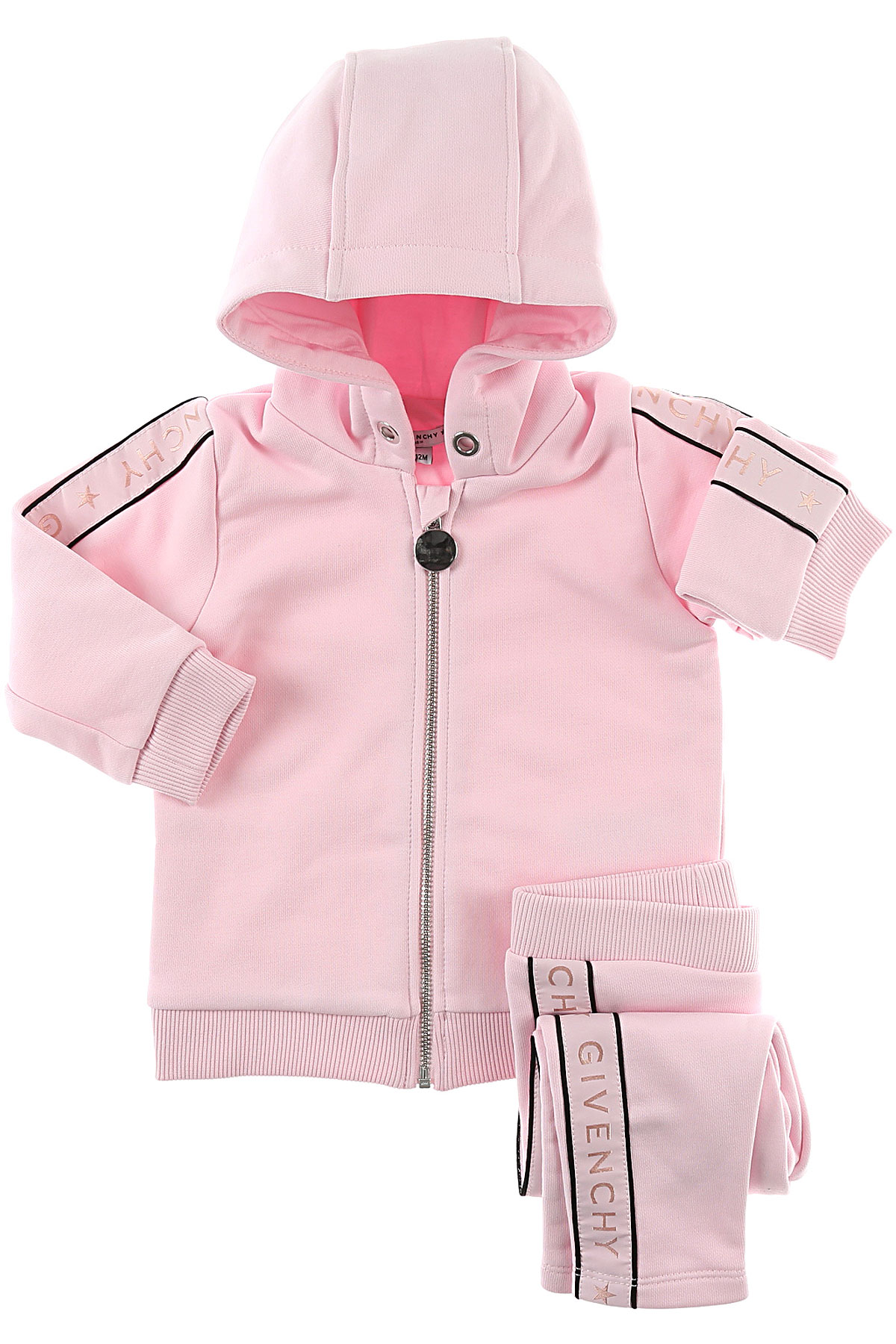 Image of Givenchy Baby Sets for Girls, Pink, Cotton, 2017, 12M 18M 2Y 6M 9M
