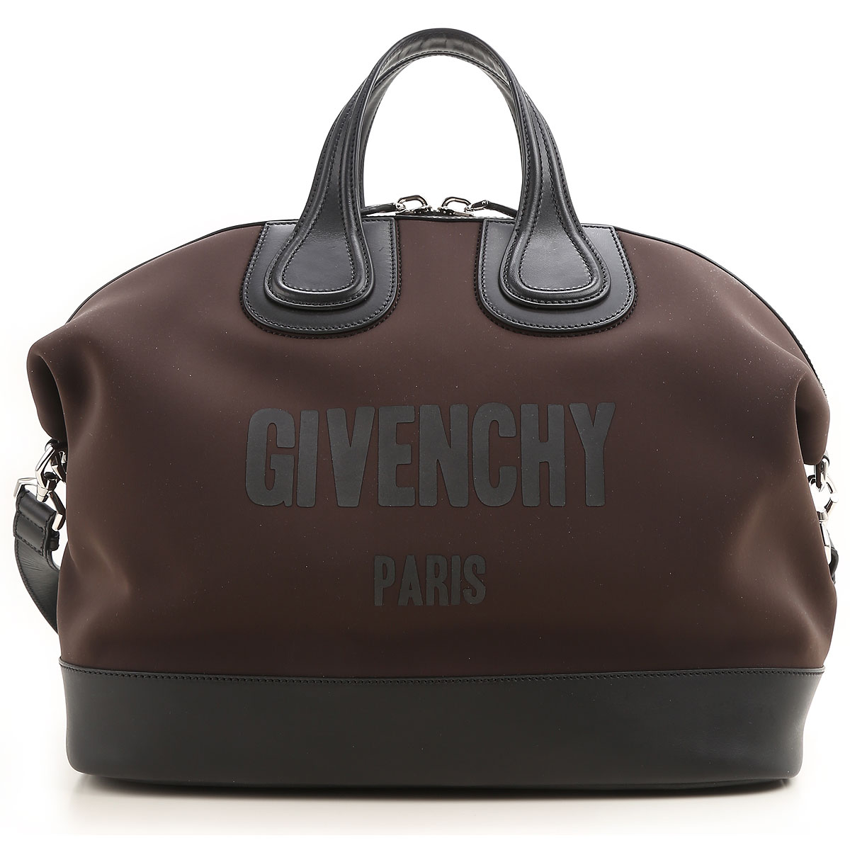 Givenchy Weekender Duffel Bag for Men On Sale in Outlet, Nightingale, Dark Brown, polyester, 2019