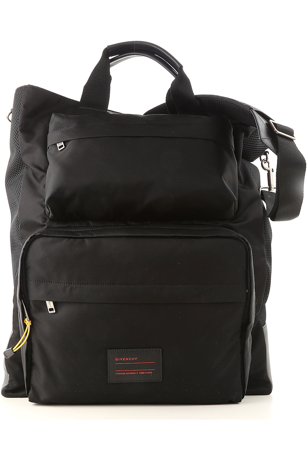 Image of Givenchy Weekender Duffel Bag for Men, Black, Fabric, 2017