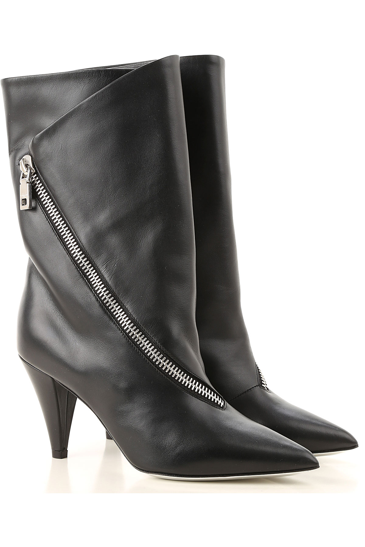 Givenchy Boots for Women, Booties On Sale in Outlet, Black, Nappa Leather, 2019, 10 6 7 8 9