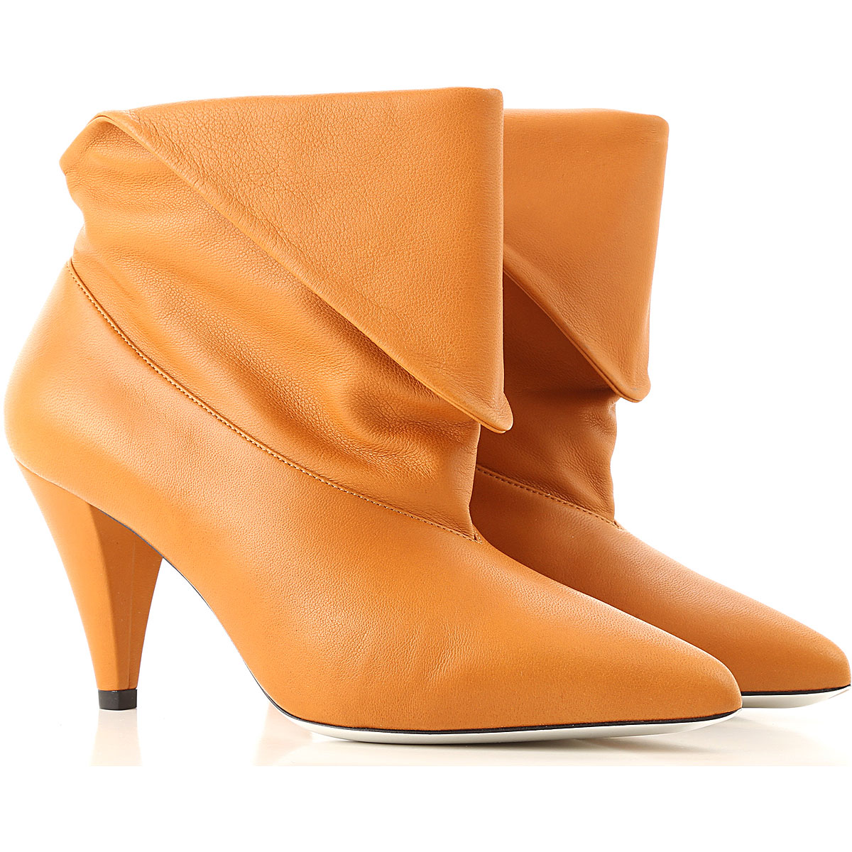 Givenchy Boots for Women, Booties On Sale in Outlet, Caramel, Leather, 2019, 6 7