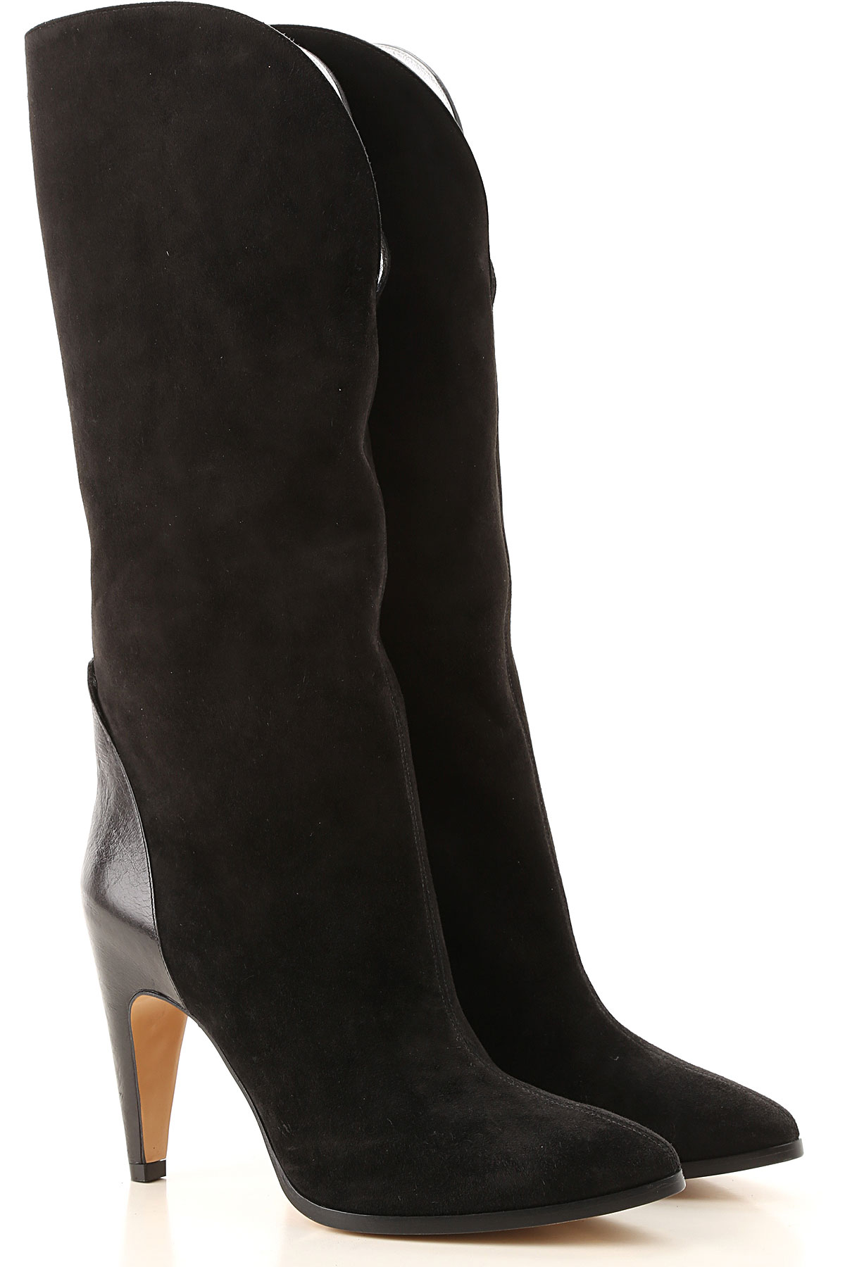 Givenchy Boots for Women, Booties On Sale in Outlet, Black, Suede leather, 2019, 10 6 7