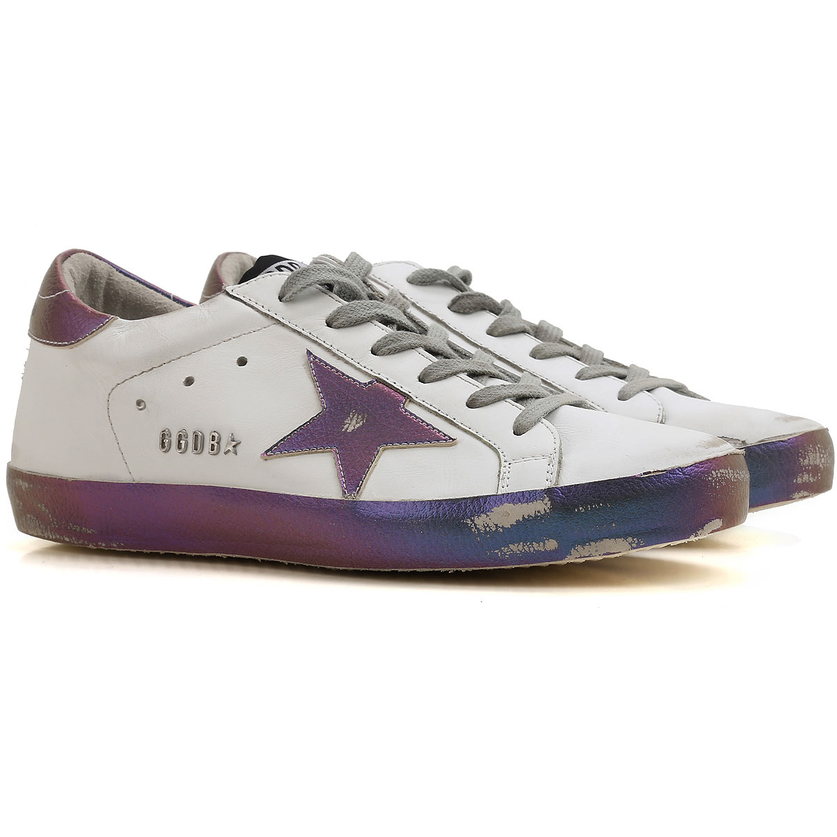 Golden Goose Sneakers for Women On Sale, White, Leather, 2019, 5 9
