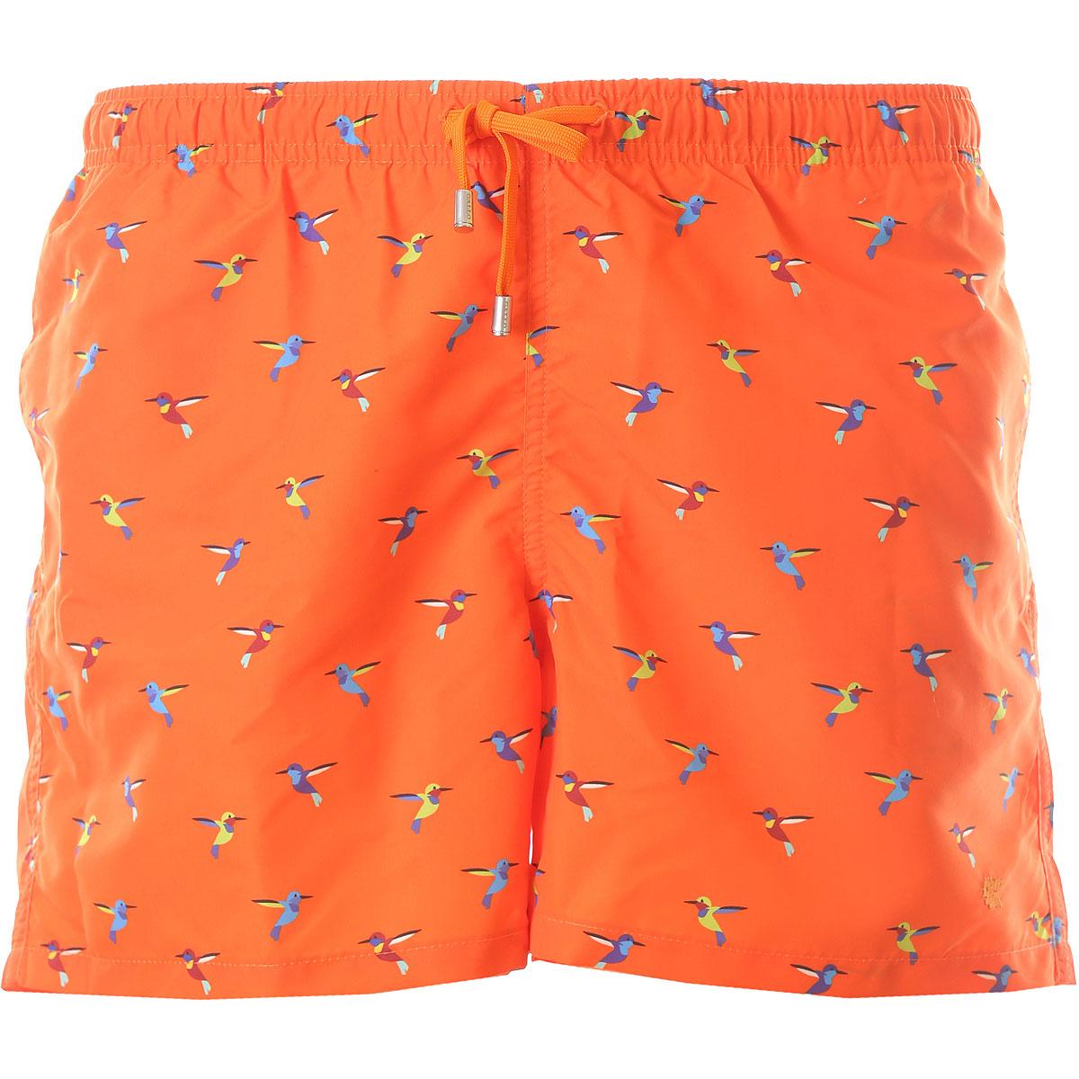 Gallo Mens Swimwear On Sale, Orange, polyester, 2019, S M L XL