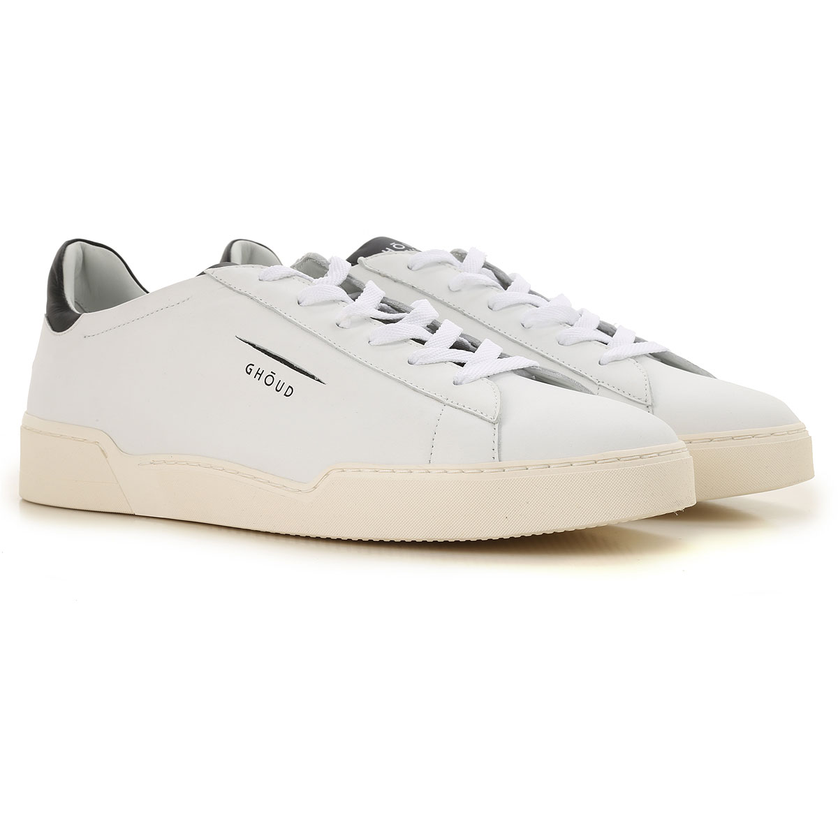 Image of Ghoud Sneakers for Men, White, Leather, 2017, 10 11.5 8