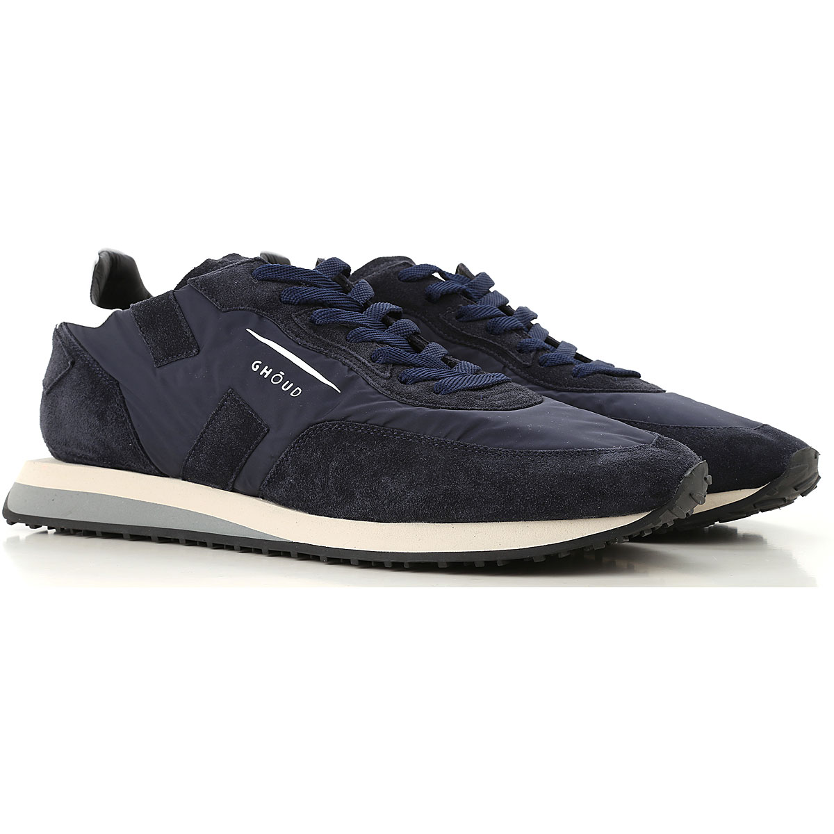 Image of Ghoud Sneakers for Men, Blue Navy, suede, 2017, 10 6 8