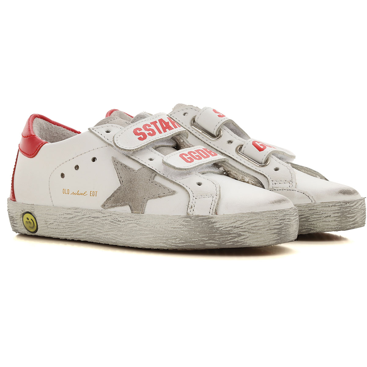 Image of Golden Goose Sneakers, White, Calf Leather, 2017, 24 25 26 27 28 29 30 31 32 33 34 35
