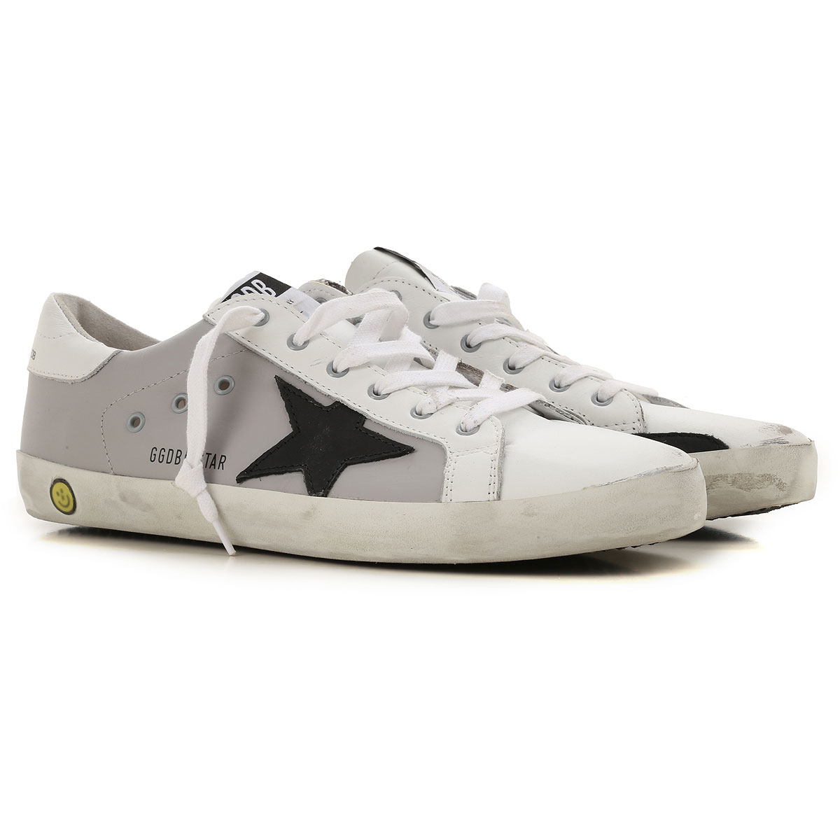 Image of Golden Goose Sneakers, Grey, Calf Leather, 2017, 36 37 38