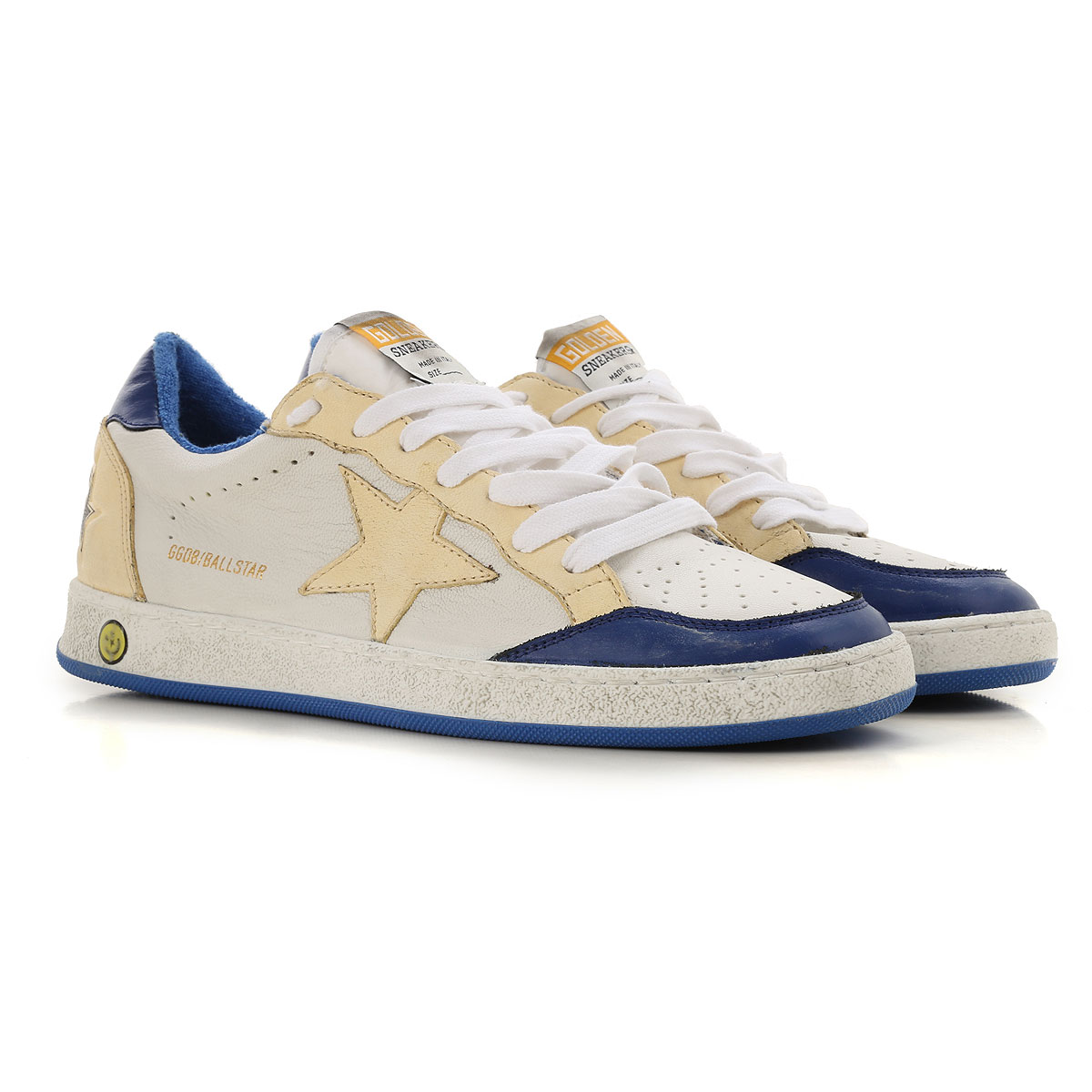 Image of Golden Goose Sneakers, White, Calf Leather, 2017, 37 38