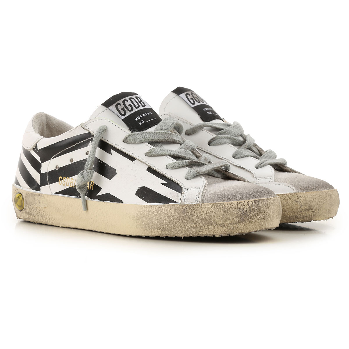 Golden Goose Kids Shoes for Boys On Sale, White, Leather, 2019, 29 30 31 32 33