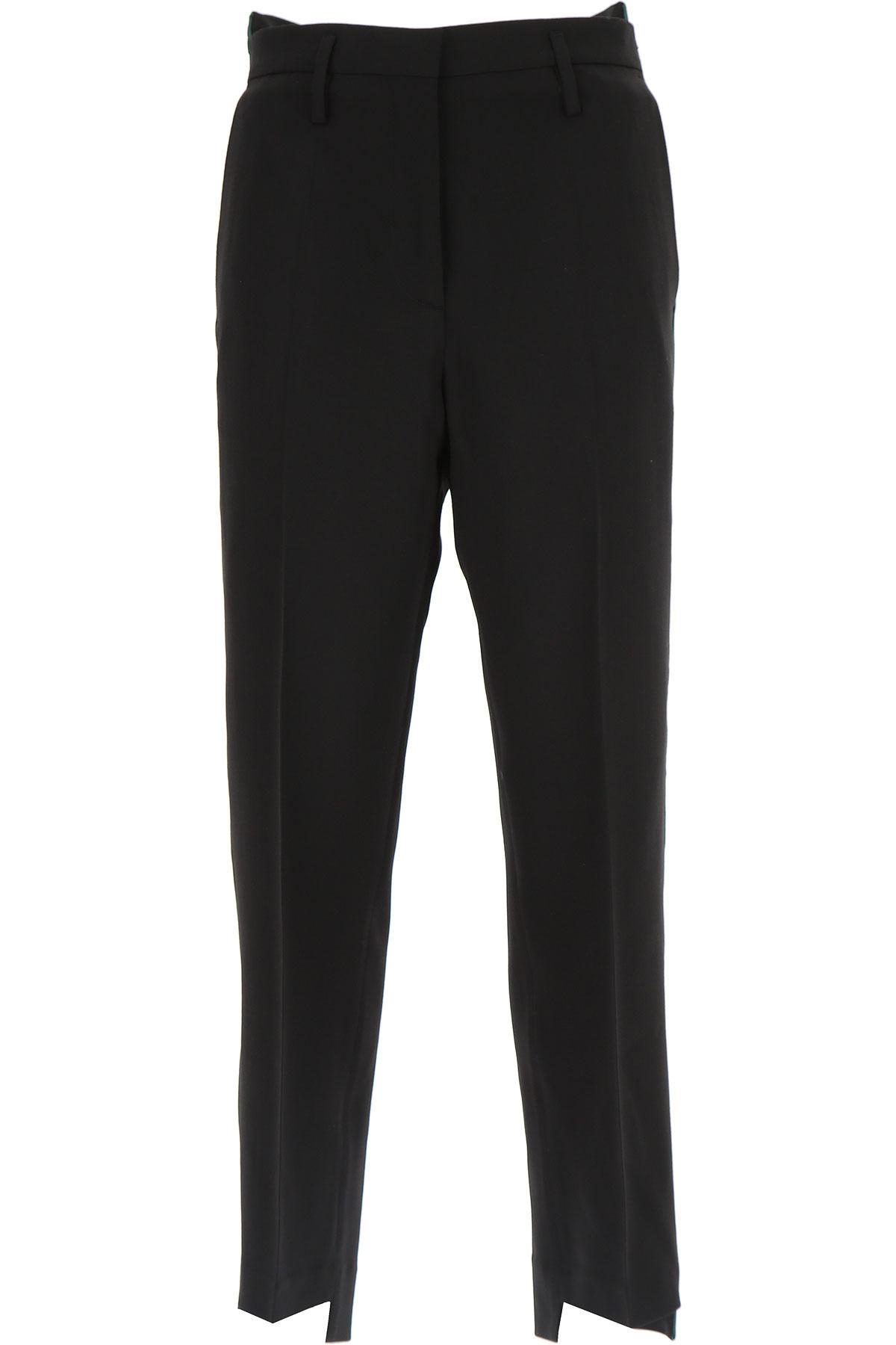 Golden Goose Pants for Women On Sale, Black, Virgin wool, 2019, S (IT 40) M (IT 42 )