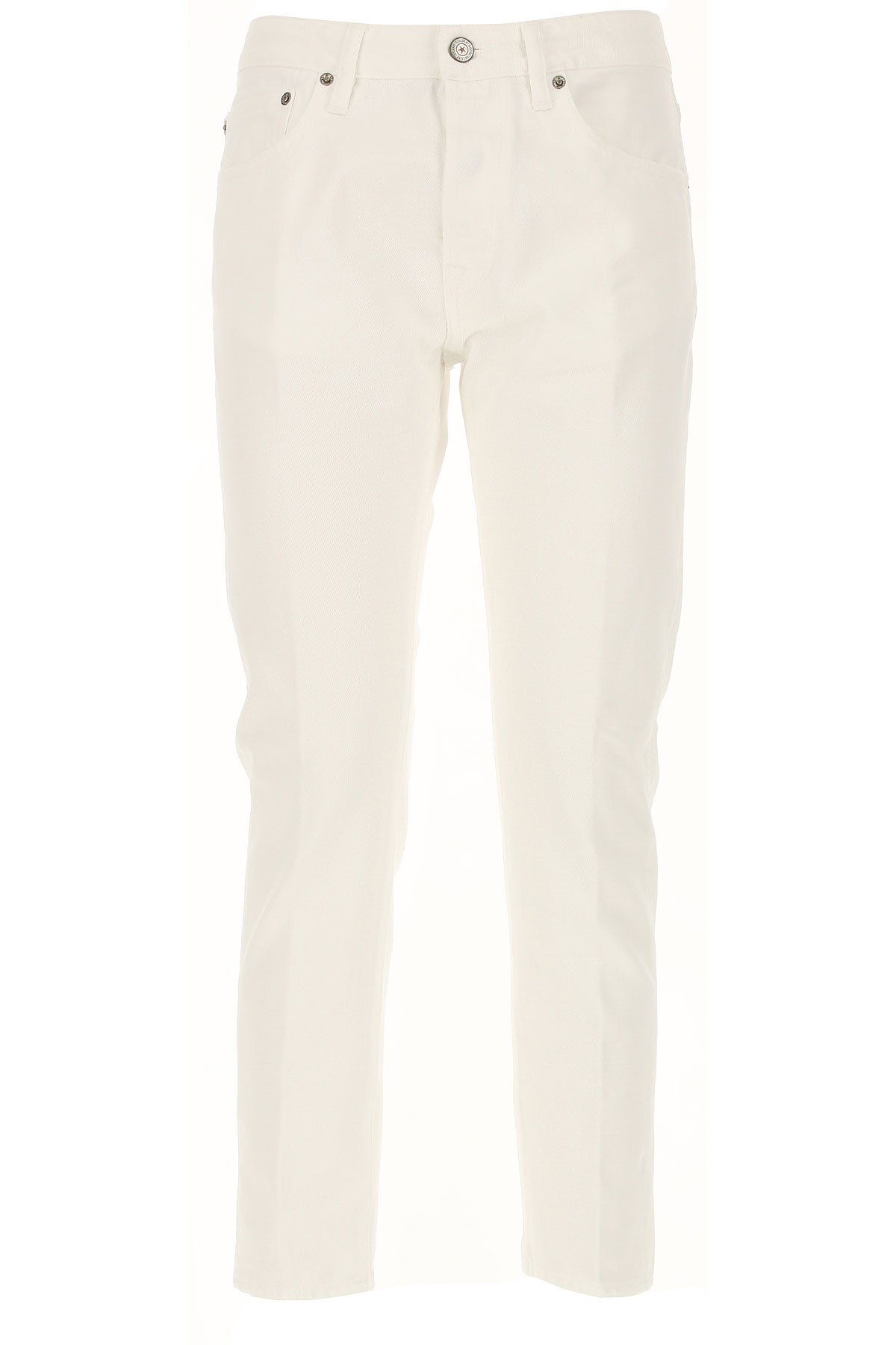 Golden Goose Jeans, White, Cotton, 2017, 25 26 27 28 29 30
